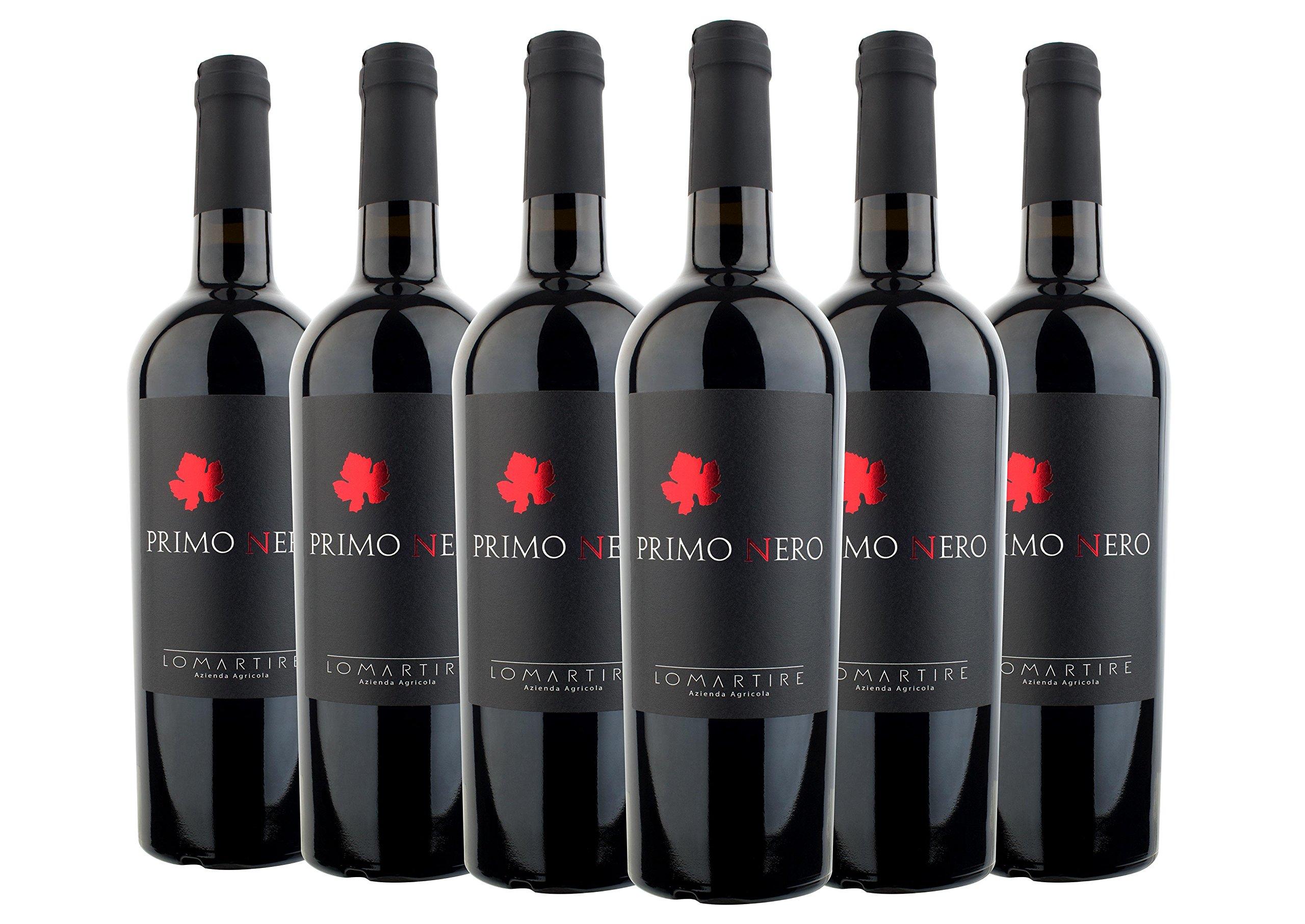 Salento-IGT-2016-Primitivo-Primo-Nero-Lomartire-6-fl-x-0750-l