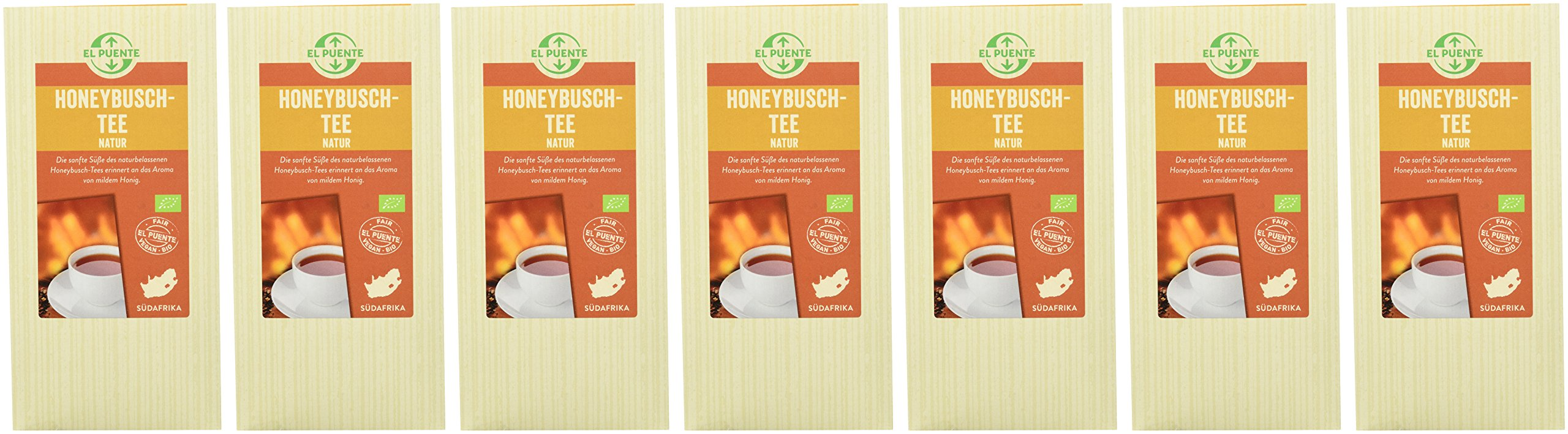 El-Puente-Honeybusch-Natur-7er-Pack-7-x-130-g