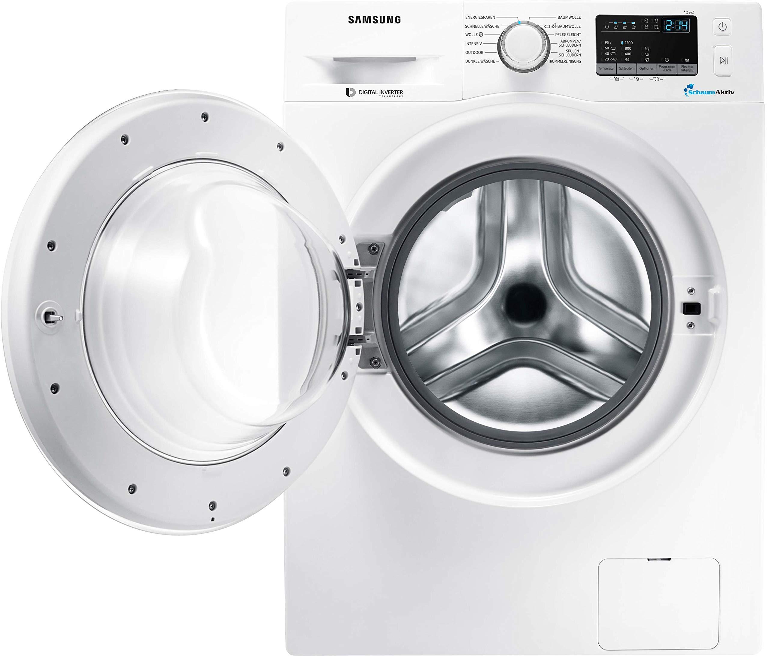 Samsung-WW4000-WW60J42A0LWEG-Waschmaschine-6-kg-1200-Umin-A-Schaumaktiv-Technologie-Digital-Inverter-Motor-mit-10-Jahren-Garantie