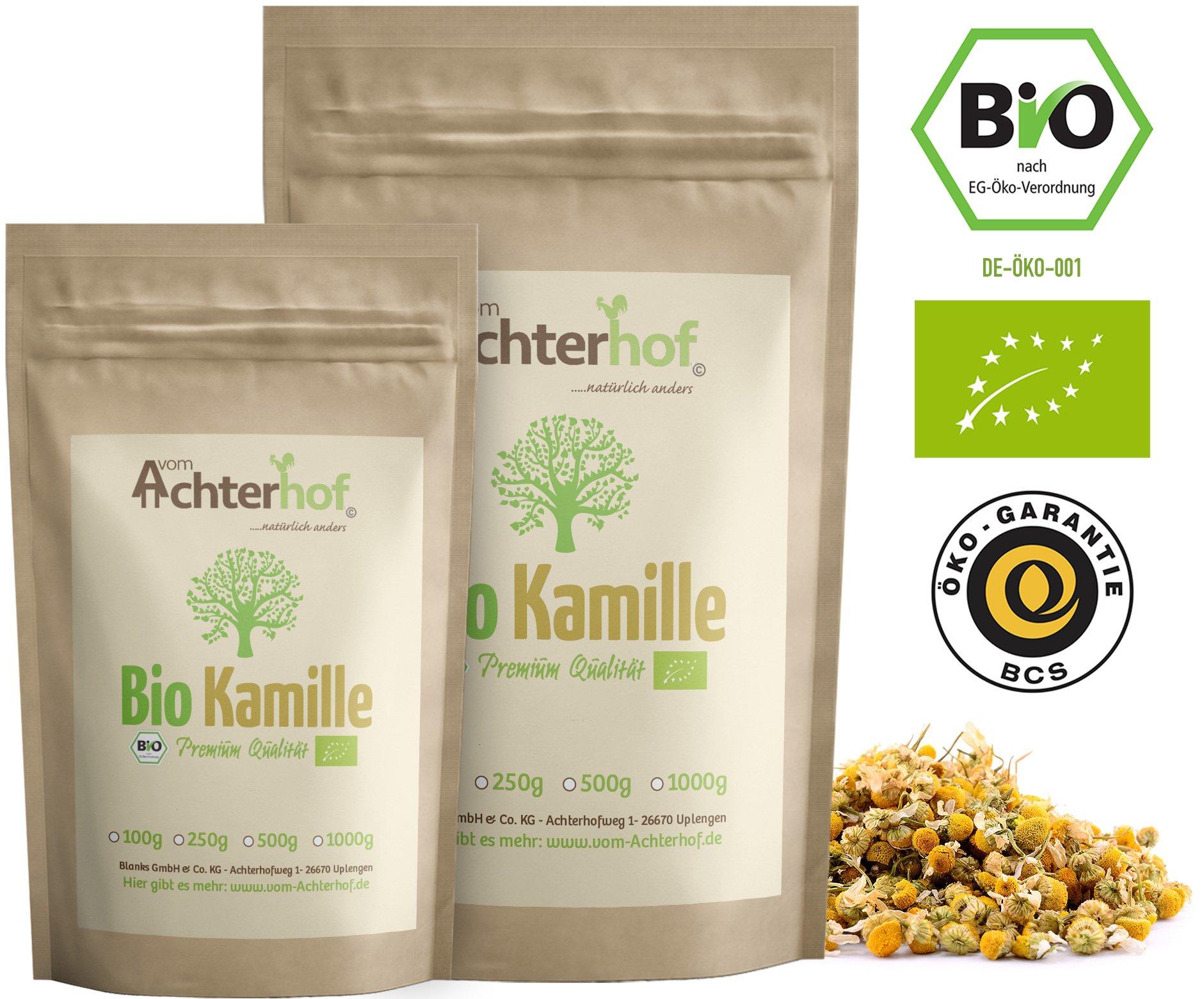 Kamillentee-Bio-lose-500g-Kamillenblten-Tee-getrocknet-Kamille