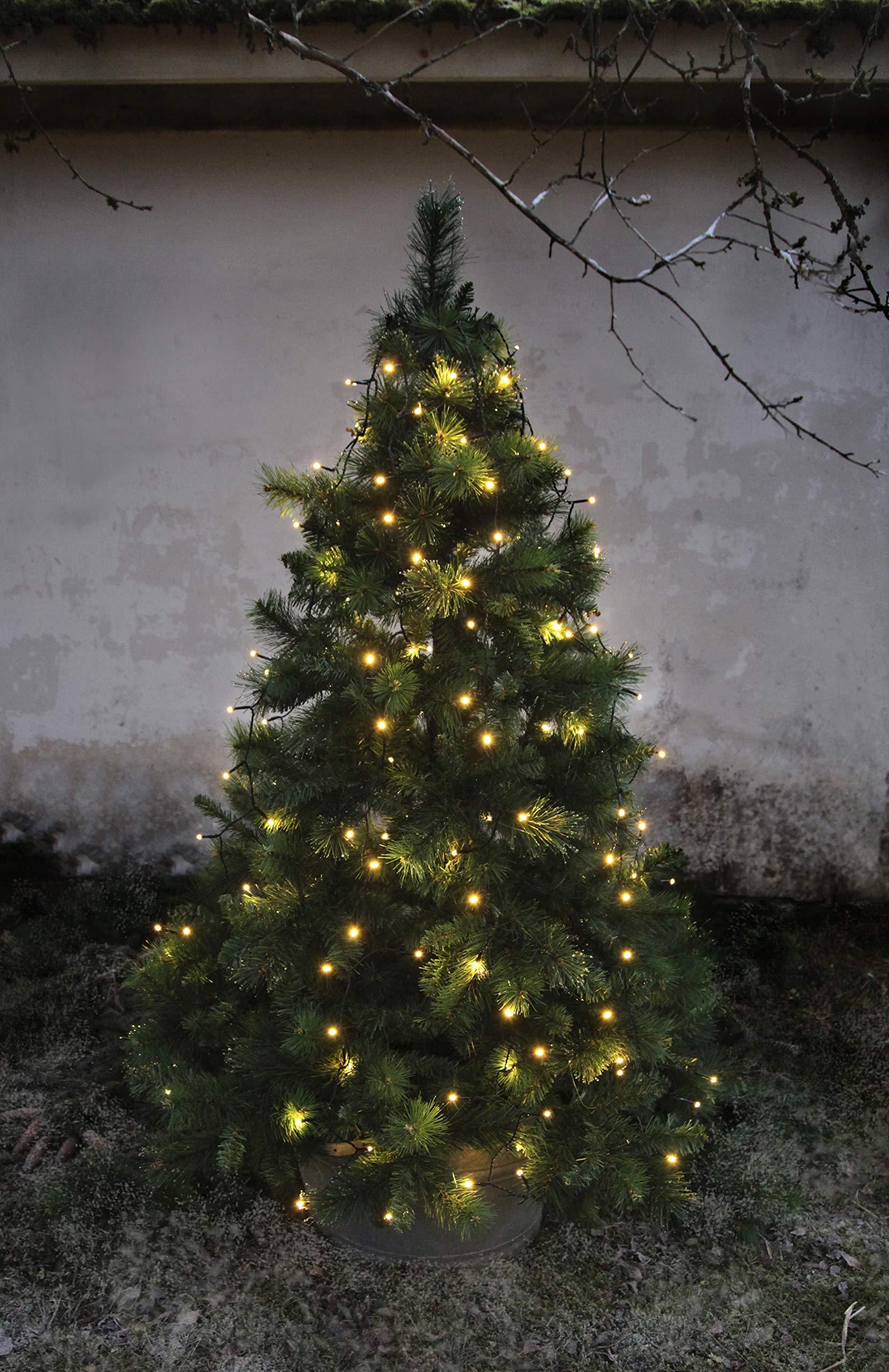 LED-Baumvorhang-160-teilig-Farbe-warm-white-Kabel-schwarz-8-Strnge-fr-ca-180-200-cm-Bume-outdoor-mit-Trafo