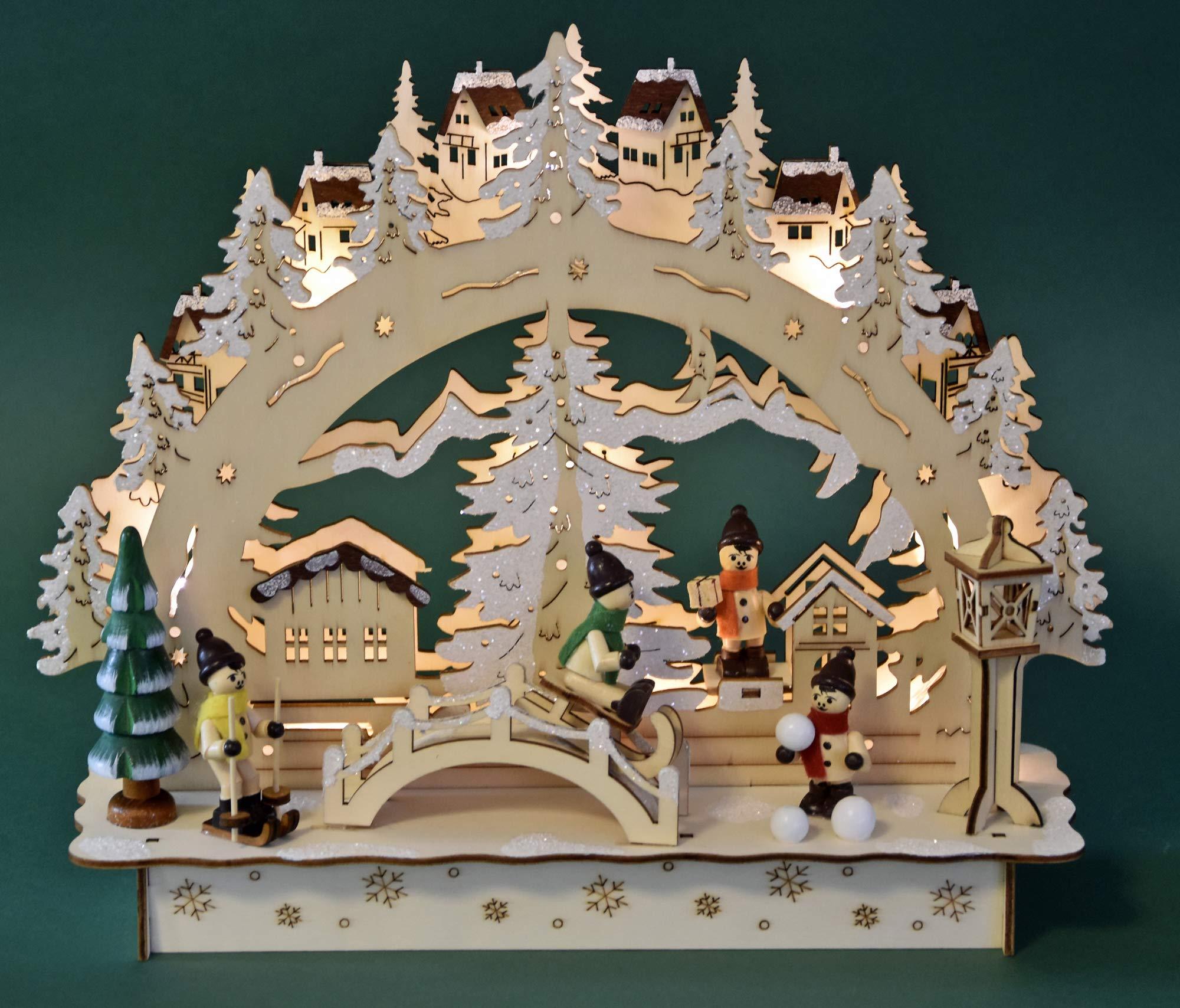 yanka-style-LED-Schwibbogen-Lichterbogen-Leuchter-Winterkinder-aus-Holz-innenbeleuhtet-ca-30-cm-breit-Weihnachten-Advent-Geschenk-Dekoration-20667