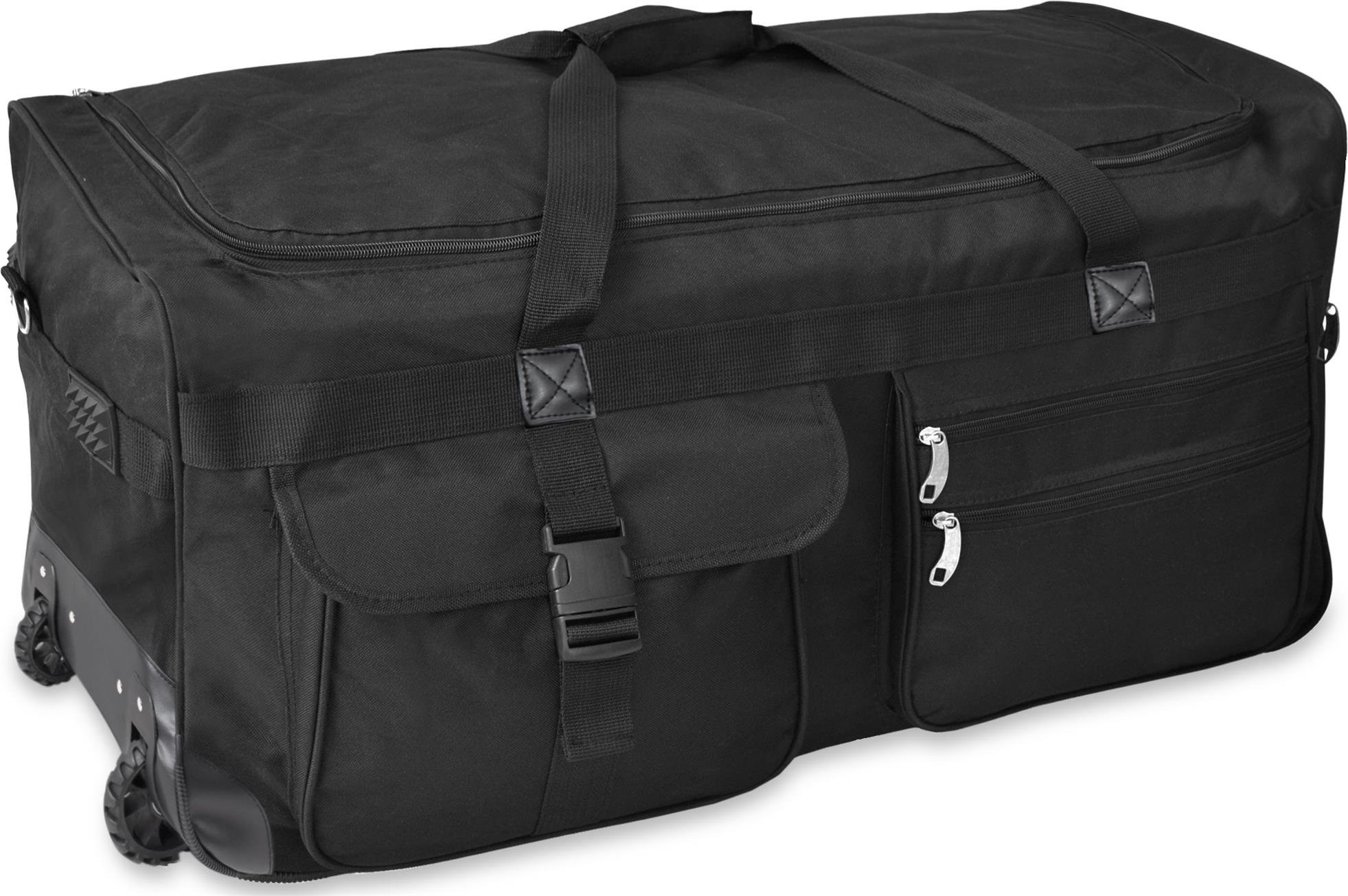 gearup extra gro er trolley reisekoffer reisetasche 80 100 120 oder 150 liter w hlbar koffer. Black Bedroom Furniture Sets. Home Design Ideas