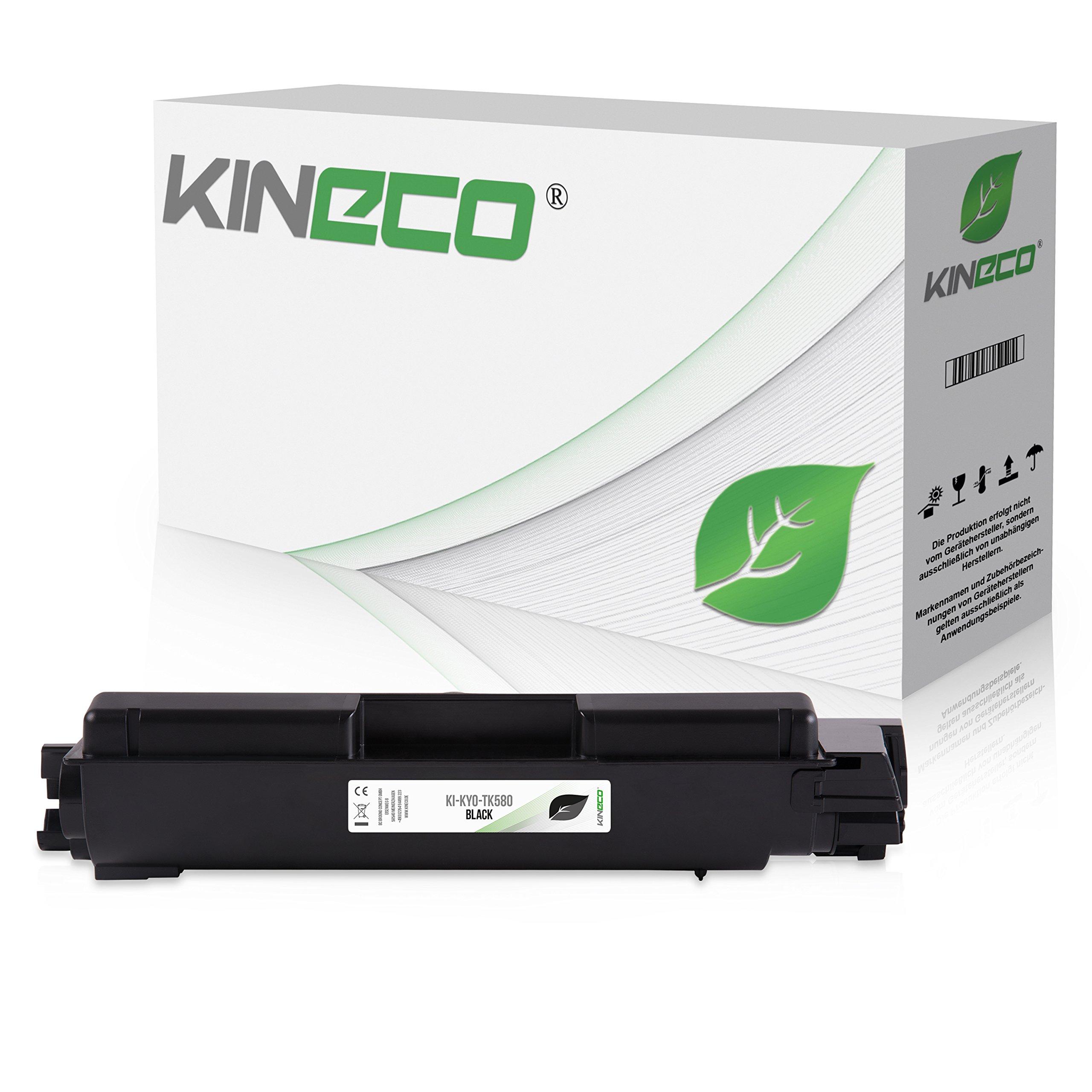 Toner-kompatibel-zu-Kyocera-TK-580-TK580-fr-Kyocera-FS-C5150DN-Ecosys-P6021cdn-1T02KT0NL0-Schwarz-4000-Seiten