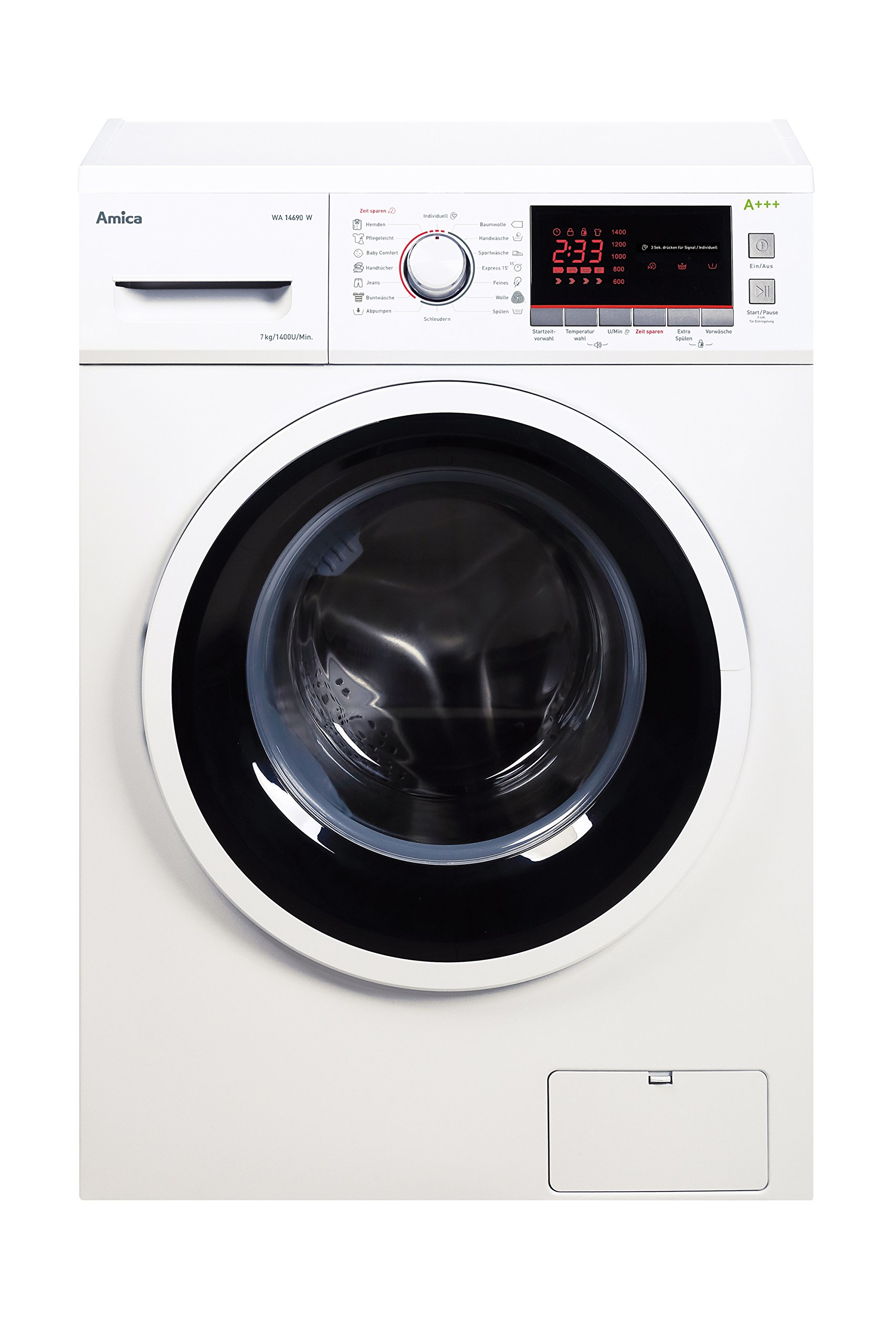 Amica-WA-14690-W-autonome-Belastung-Bevor-7-kg-1400trmin-A-Wei-Waschmaschine–Waschmaschinen-autonome-bevor-Belastung-wei-links-LED-Rot