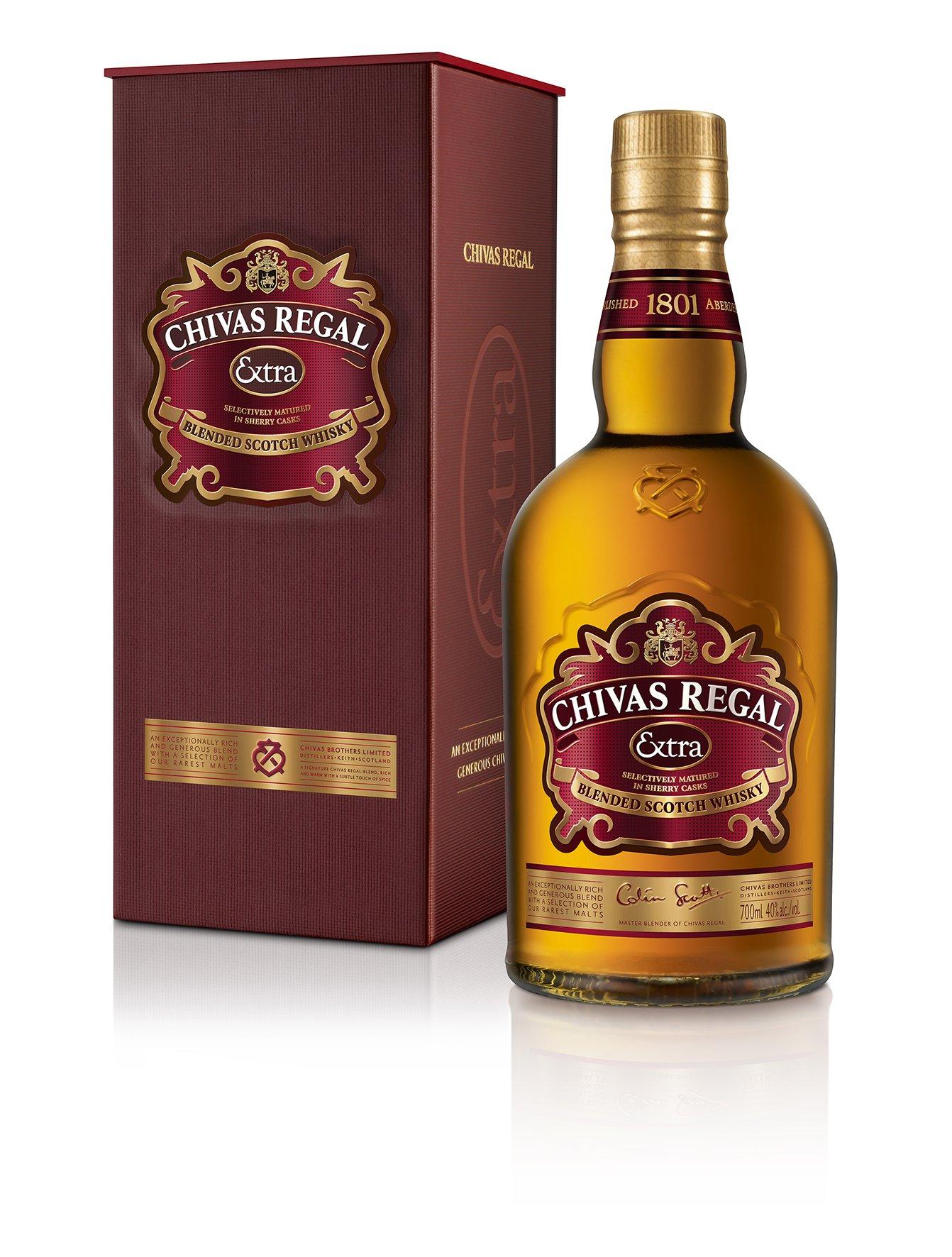 Chivas-Regal-Extra-Blended-Scotch-Whisky-mit-Geschenkverpackung–Edle-Komposition-aus-ausgewhlten-Malt-Grain-Whiskys–Whisky-mit-goldgelber-Farbe-fruchtig-sem-Geschmack–1-x-07-L