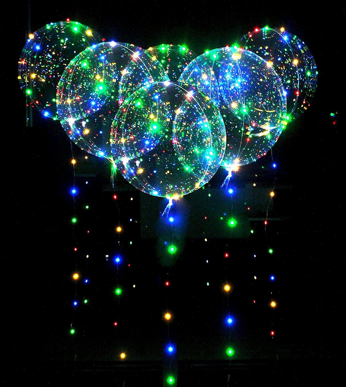 LED-Bobo-Balloons-Transparente-Runde-Form-Balloons-Party-Blinklicht-Ballons-Perfekt-fr-Valentinstag-Party-Hochzeit-Urlaub-Dekoration