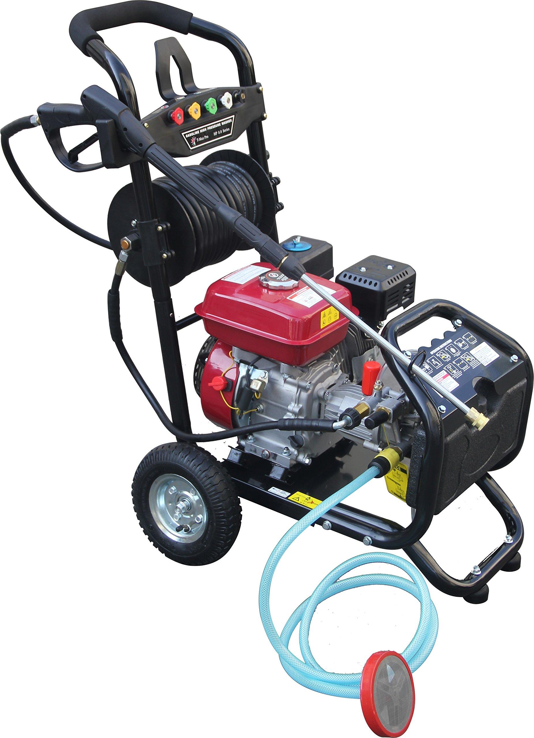 Dealourus-Benzin-Hochdruckreiniger–80-PS-3950-psi-Awesome-Power-T-MAX-PRO-20-Meter-Schlauch-5-Bonus-Druckdsen-Plus-gratis-Turbo-Dsensprher