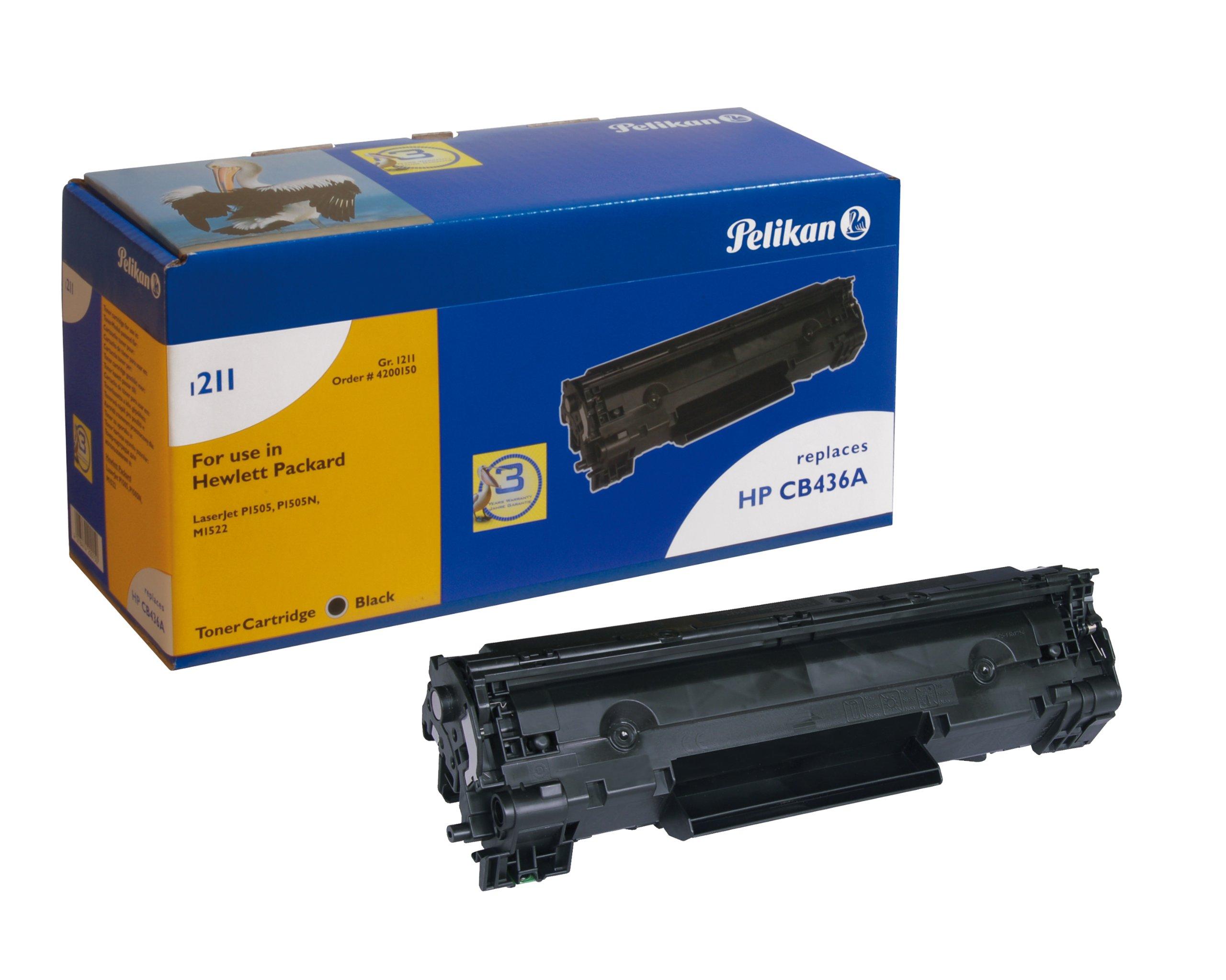 Pelikan-Toner-Modul-1211-ersetzt-HP-CB436A-Schwarz-2800-Seiten