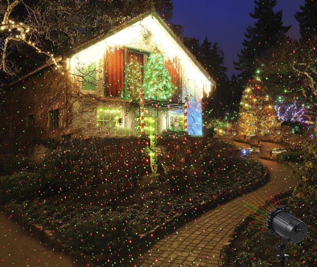 LED-Projektionslampe-von-Colleer-16-Lichteffekt-mit-Schutzart-IP65-fr-Innen-und-Auen-mit-Fernsteuerung-Beleuchtung-als-Gartenleuchte-Projektor-Mauer-Dekoration-Party-Licht-Weihnachten-und-Disco
