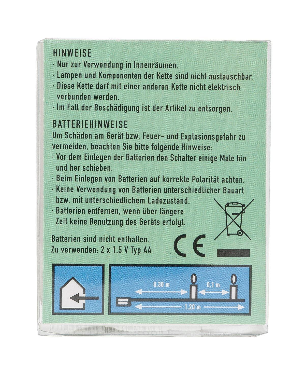 Idena-31114-LED-Micro-Lichterkette-mit-10-LED-in-warm-wei-mit-6-Stunden-Timer-Funktion-Batterie-betrieben-fr-Partys-Weihnachten-Deko-Hochzeit-als-Stimmungslicht-ca-12-m