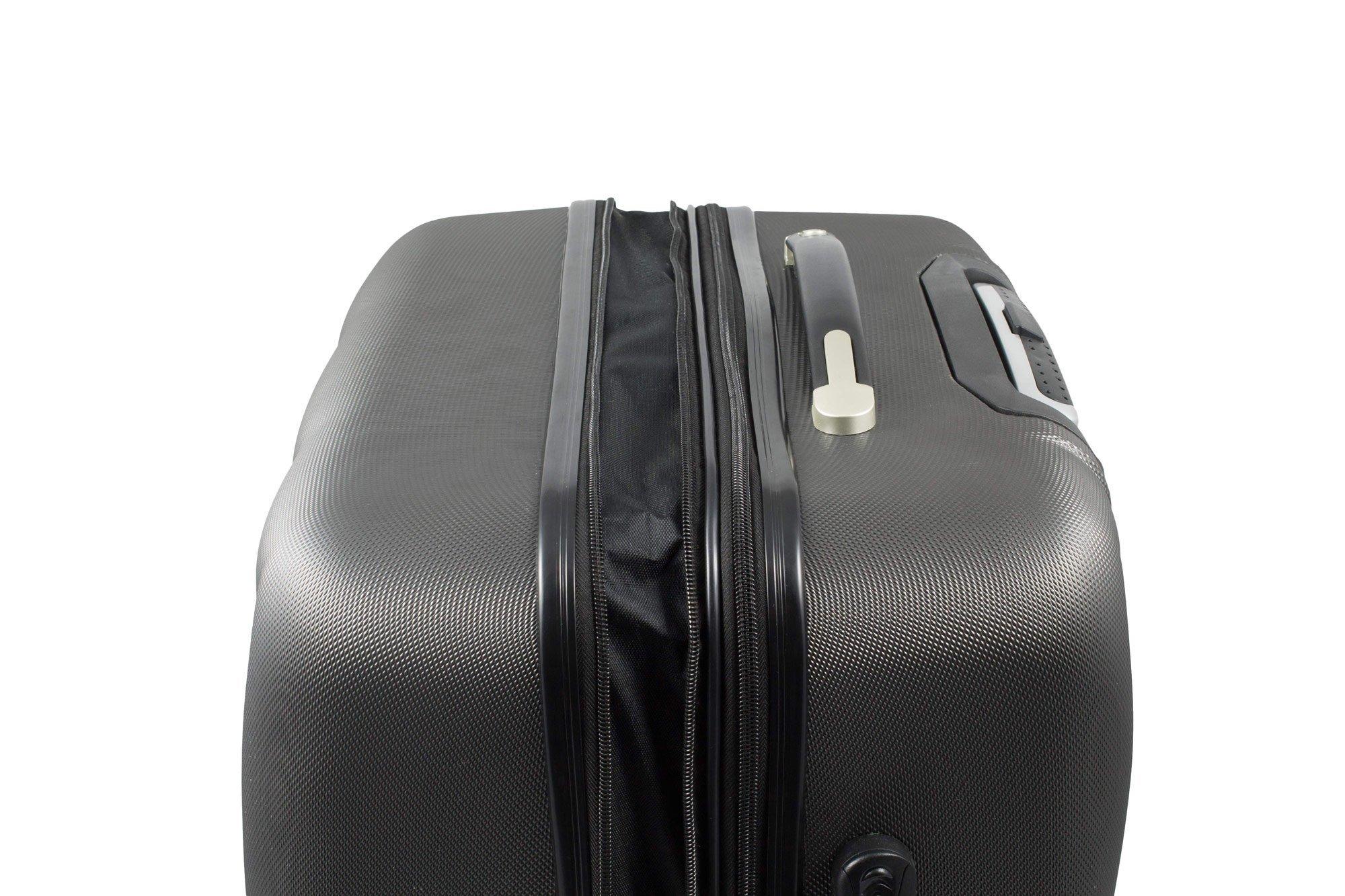BERWIN-Kofferset-M-XL-2-teilig-Reisekoffer-Trolley-Hartschalenkoffer-ABS-Teleskopgriff-Modell-Squares