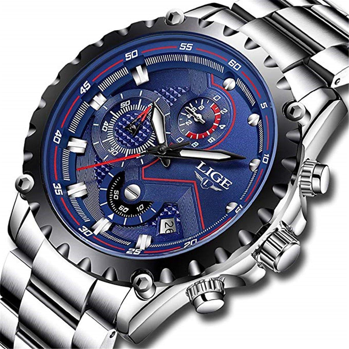Herren-Uhren-Fashion-Sports-Analog-Quarz-Armbanduhr-Herren-Luxus-Marke-Lige-Edelstahl-Wasserdicht-Armbanduhr-Man-Casual-Blau-Datum-Geschenk-Armbanduhr