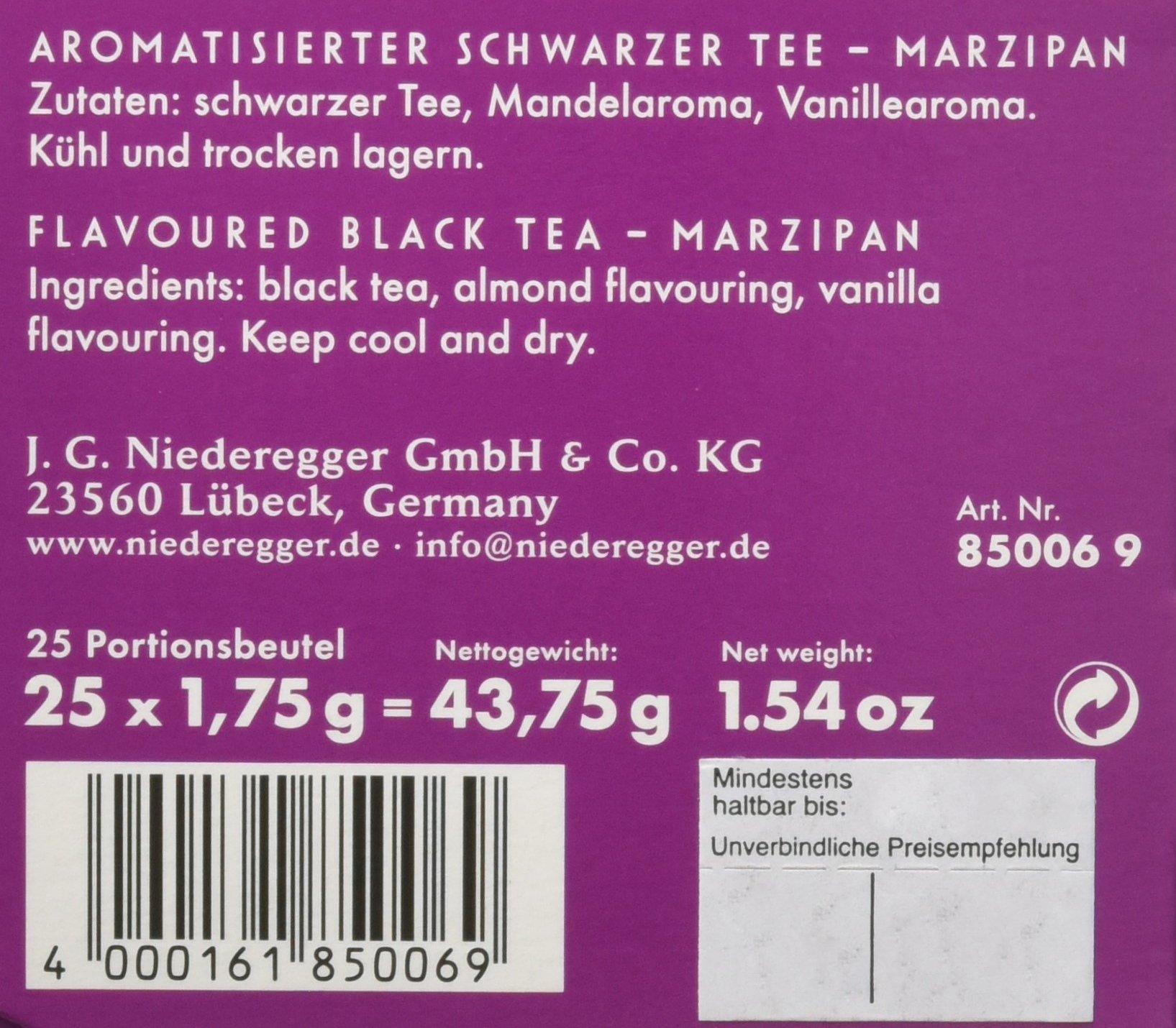 Niederegger-Marzipan-Tee-Beutel