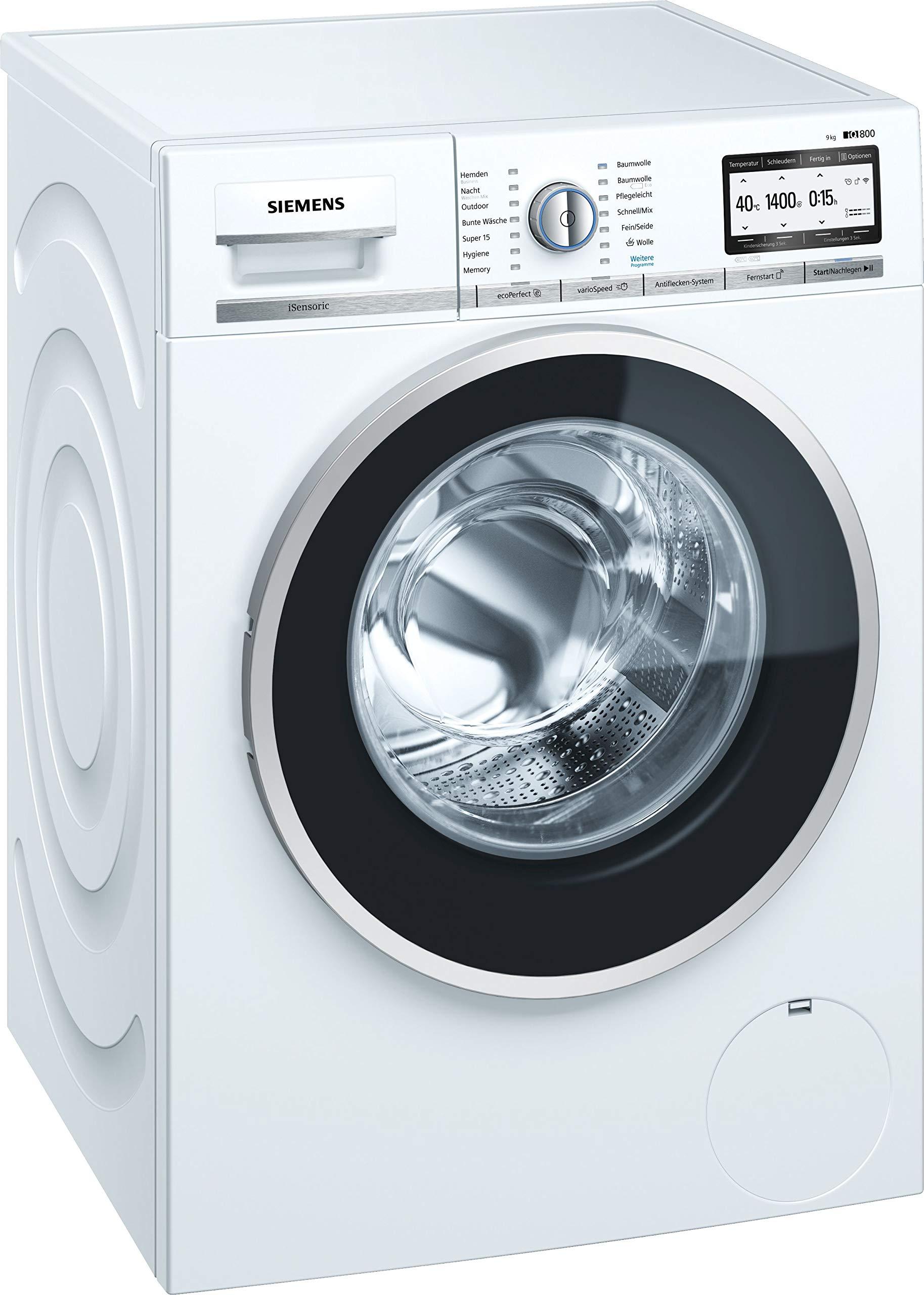 Siemens-iQ800-Waschmaschine-WM4YH749-900-kg-A-152-kWh-1400-Umin-WLAN-fhig-mit-Home-Connect-Automatische-Fleckenautomatik-Nachlegefunktion