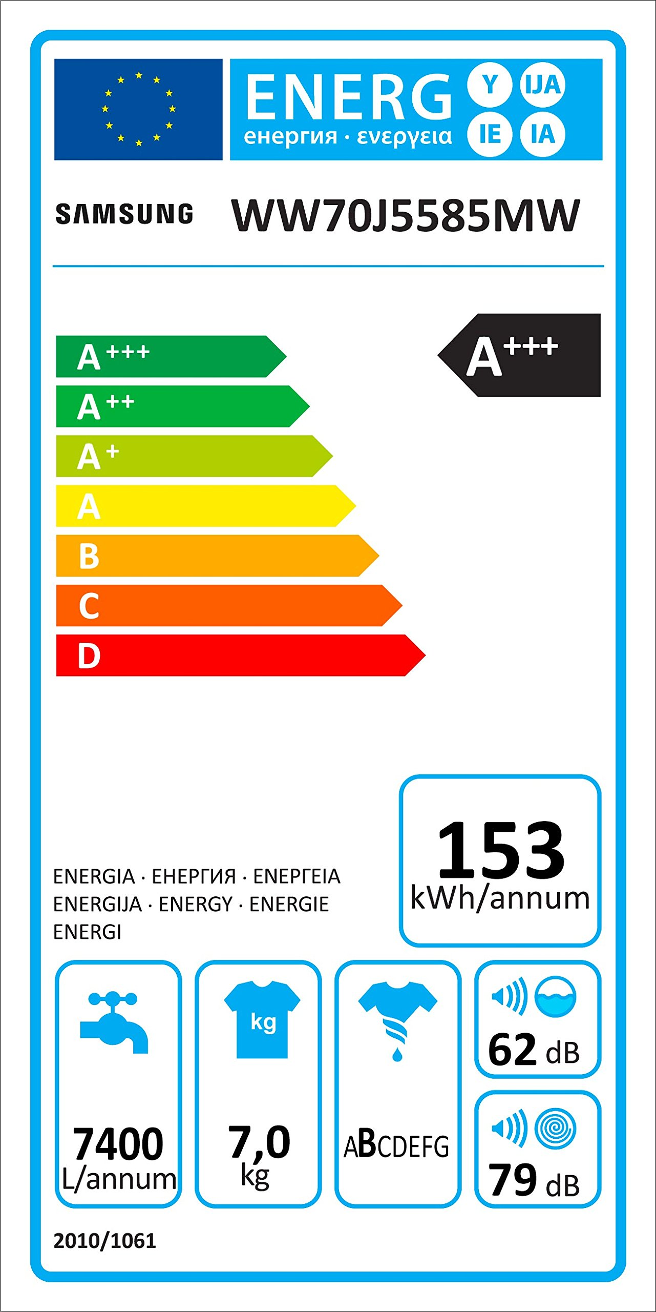 Samsung-WW70J5585MWEG-Waschmaschine-Frontlader-7kg-Automatikprogramme-SchaumAktiv-Technologie-FleckenIntensiv-85-cm-Hhe-Aquastop