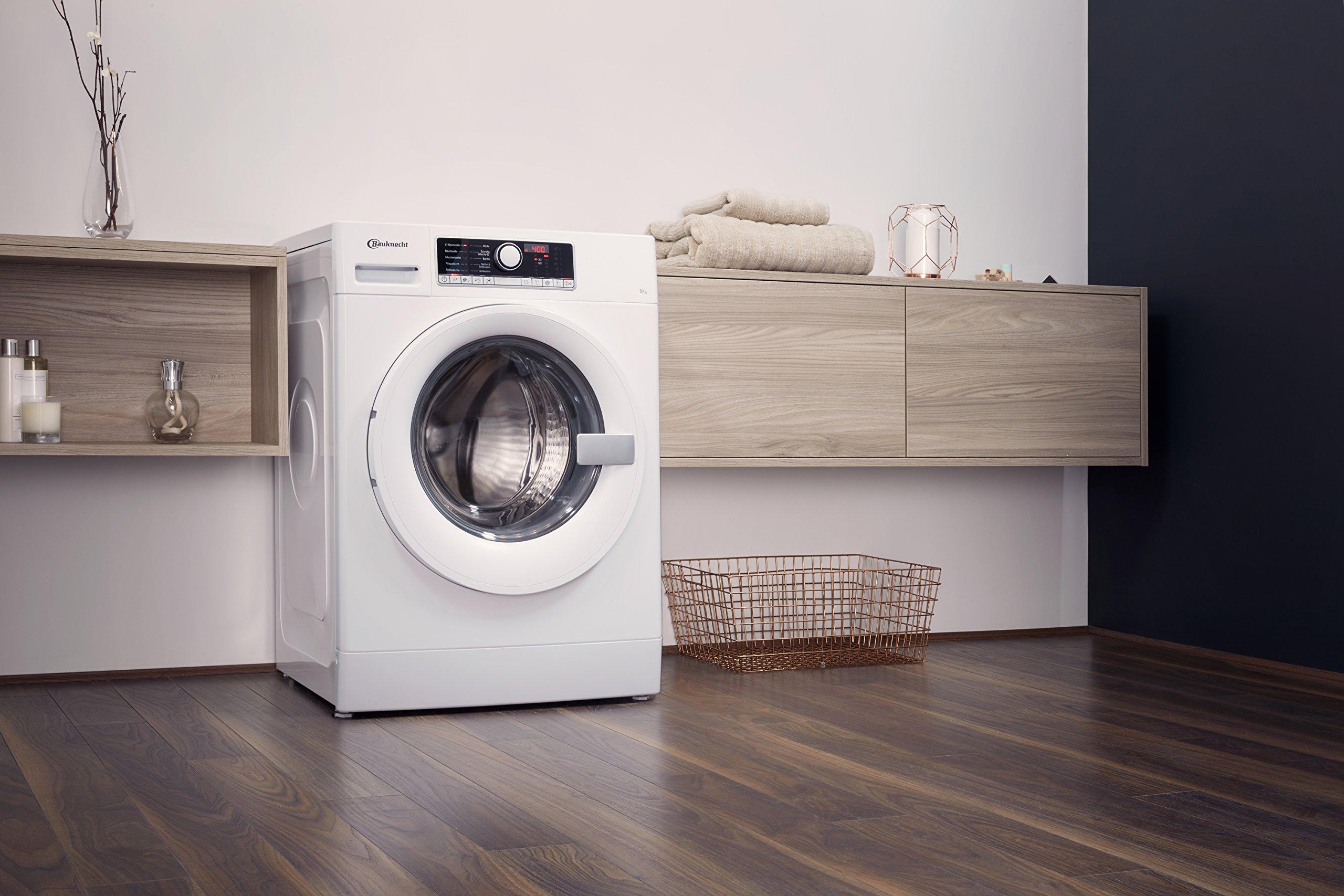 Bauknecht-WA-Prime-854-PM-Waschmaschine-FrontladerA-B-1400-UpM-8-kgweiProSilent-Motorleise-mit-53-dB