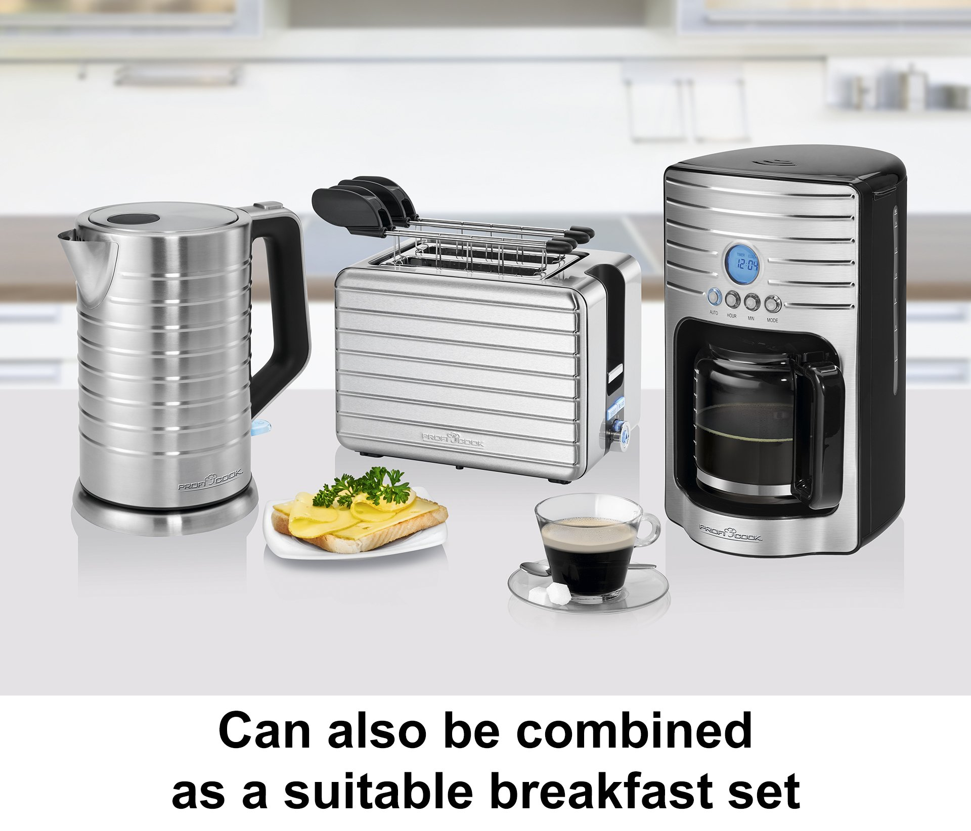 rofiCook-PC-KA-1120-Kaffeeautomat-fr-15-Tassen-ca-17-Liter-Edelstahlfront-Programmierbare-24-Stunden-LCD-Digital-Zeitschaltuhr