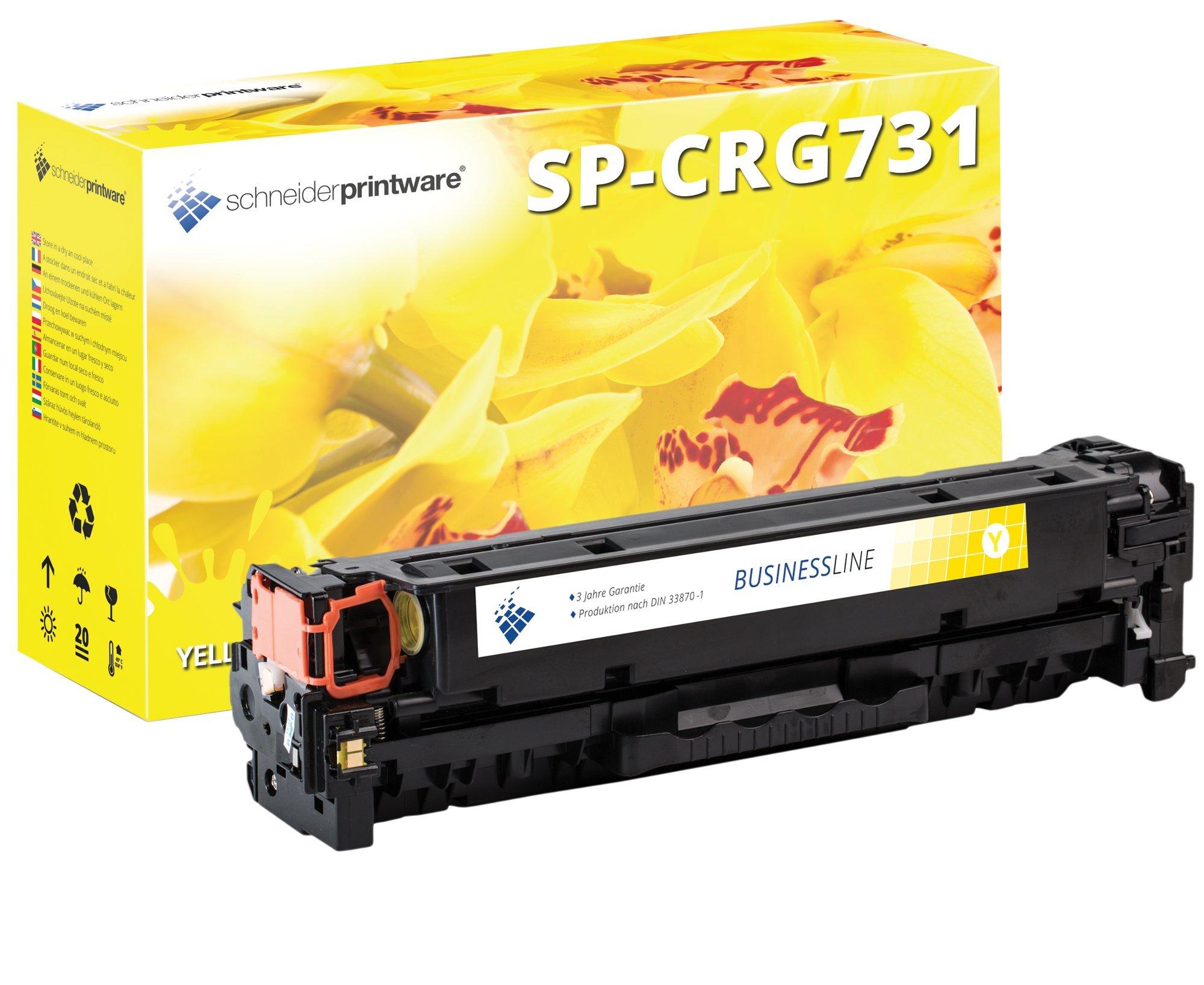 4-Schneider-Printware-Toner-35-Prozent-mehr-Druckleistung-kompatibel-zu-731-fr-Canon-LBP-7100cn-LBP-7110cw-LBP-7100-i-Sensys-MF623Cn-MF8230cn-MF8280cw-MF628cw