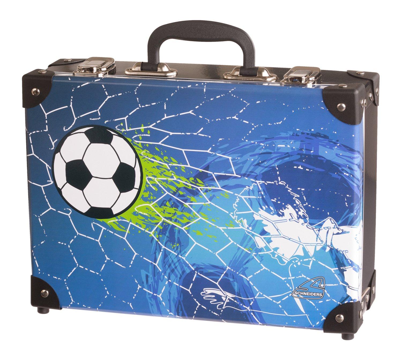 Schneiders-Vienna-Koffer-Soccer-Champ-Kindergepck-33-cm-83-L-Blau