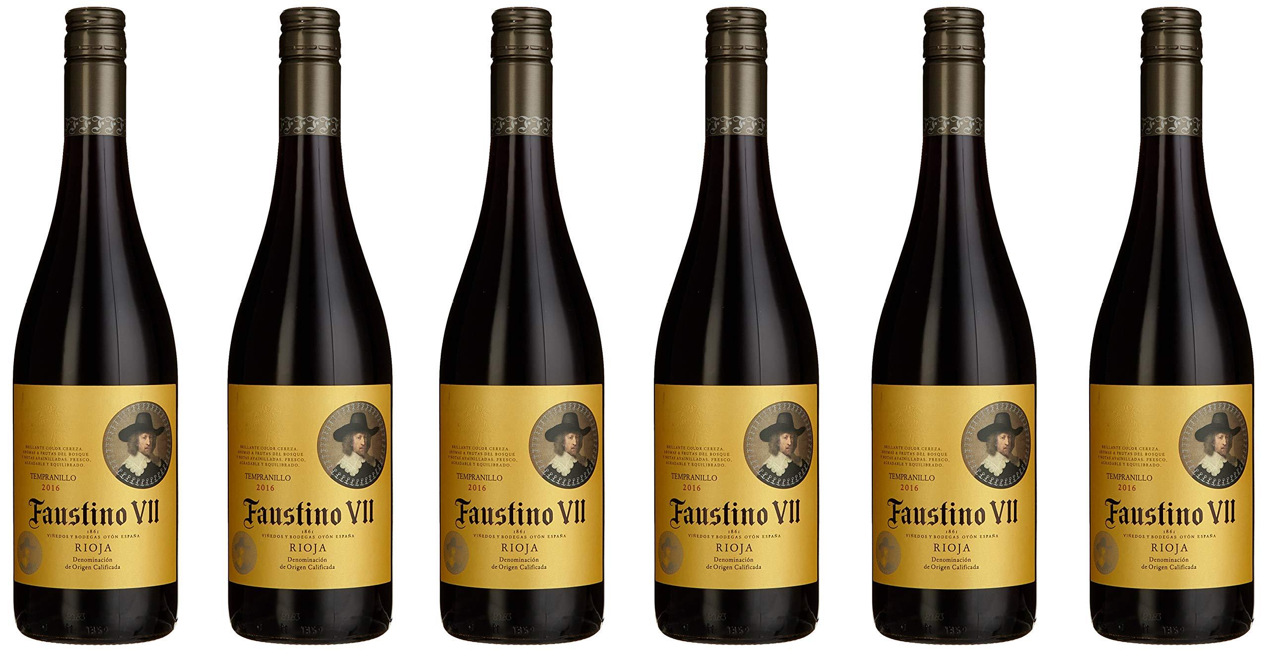 Faustino-VII-Tinto-Rioja-Vinos-Tempranillo-20132017-Trocken-6-x-075-l