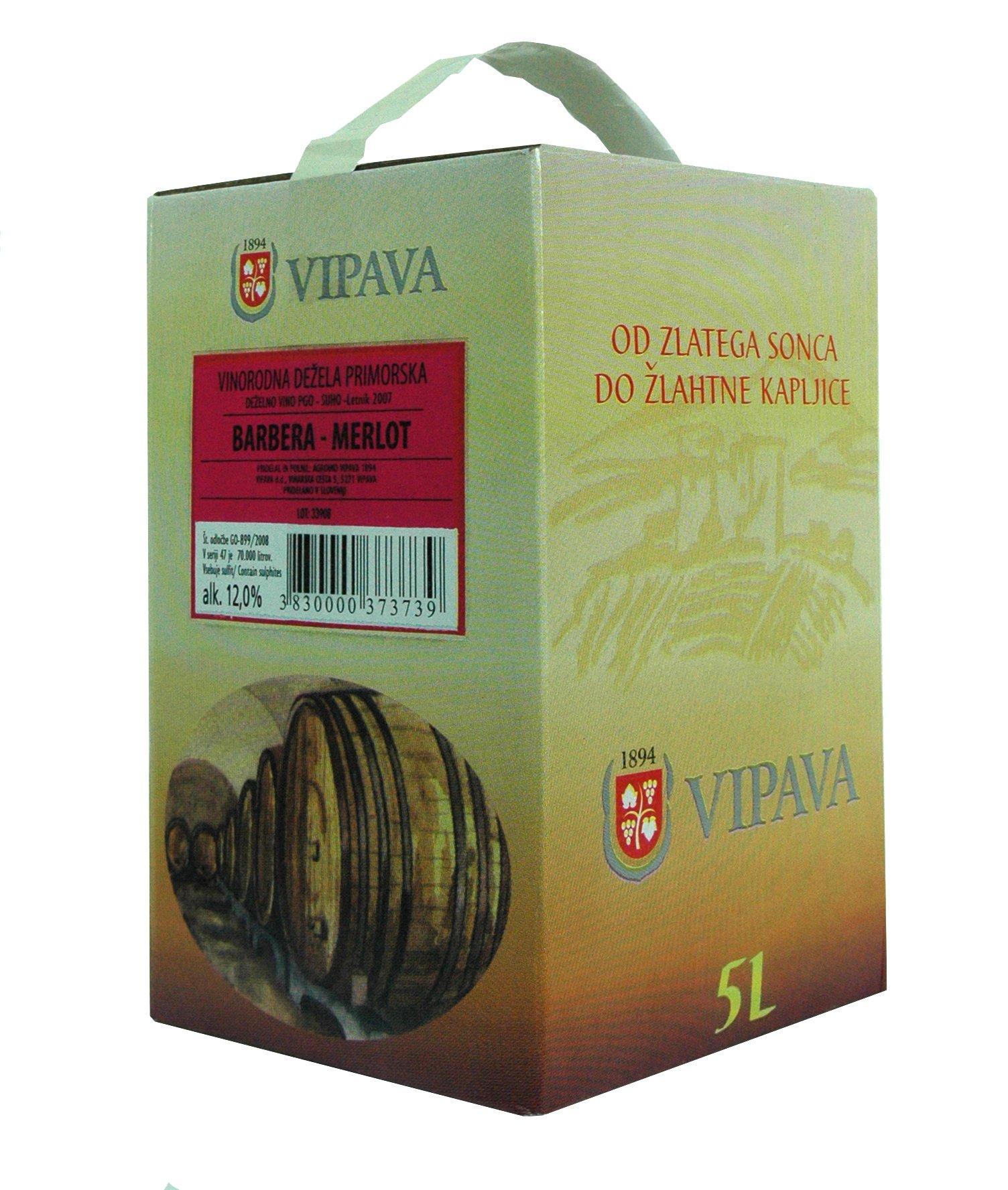 Vipava-1894-Rotwein-Bag-in-Box-5-Liter-Rotwein-Karton-5-L-Cuvee-rot–BarberaMerlot-Rotwein-in-Box-5-Liter-5-l