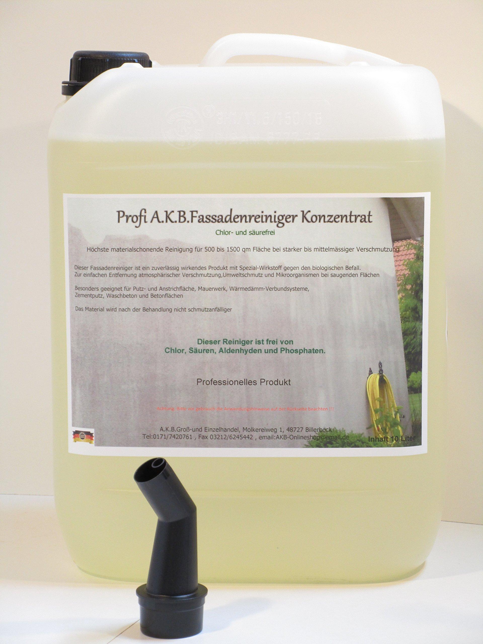 AKB-Fassadenreiniger-Hochkonzentrat-fr-HochdruckreinigerKEIN-BIOZID-039510-L-Kanister-Gratis-Ausgiesser