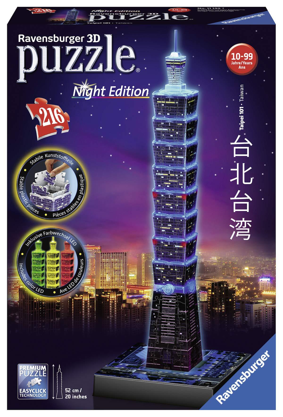 Ravensburger-11149-Taipei-101-bei-Nacht