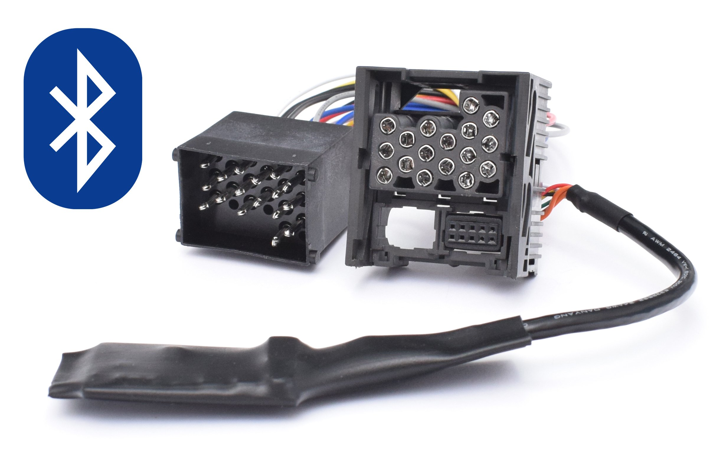 Bluetooth-Musik-Adapter-geeignet-fr-BMW-E46-E39-E38-Rundpin-17pin-Old-Generation-Radio