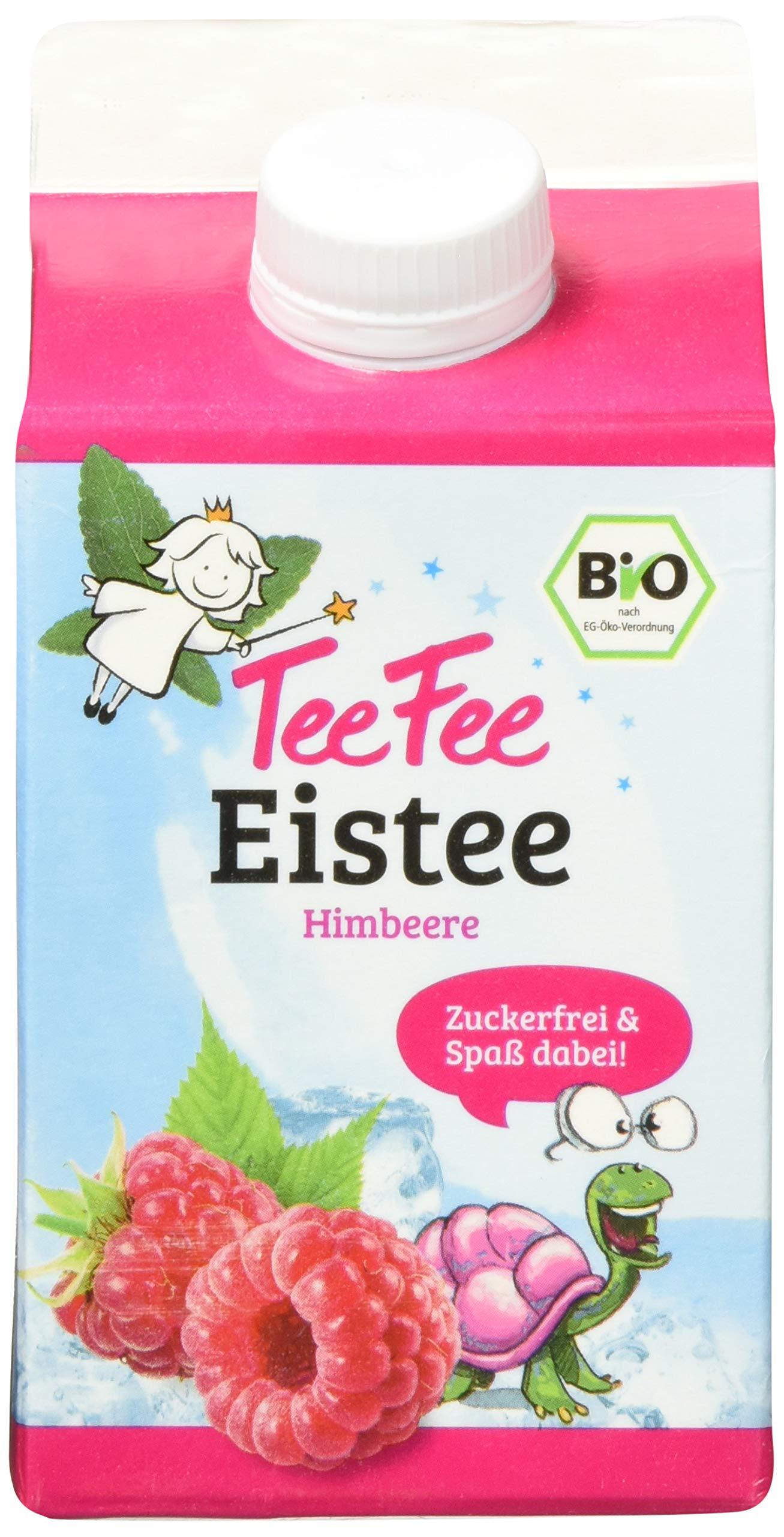 TeeFee-Bio-Eistee-Pfirsich-8er-Pack-8-x-500ml-zuckerfrei-ohne-Kalorien-kalter-Tee-fr-Klein-und-Gro