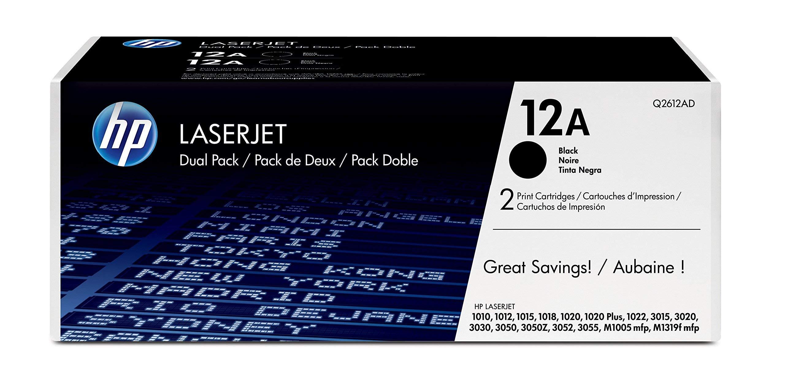 HP-12-A-Schwarz-2er-Pack-Original-LaserJet-Tonerkartuschen