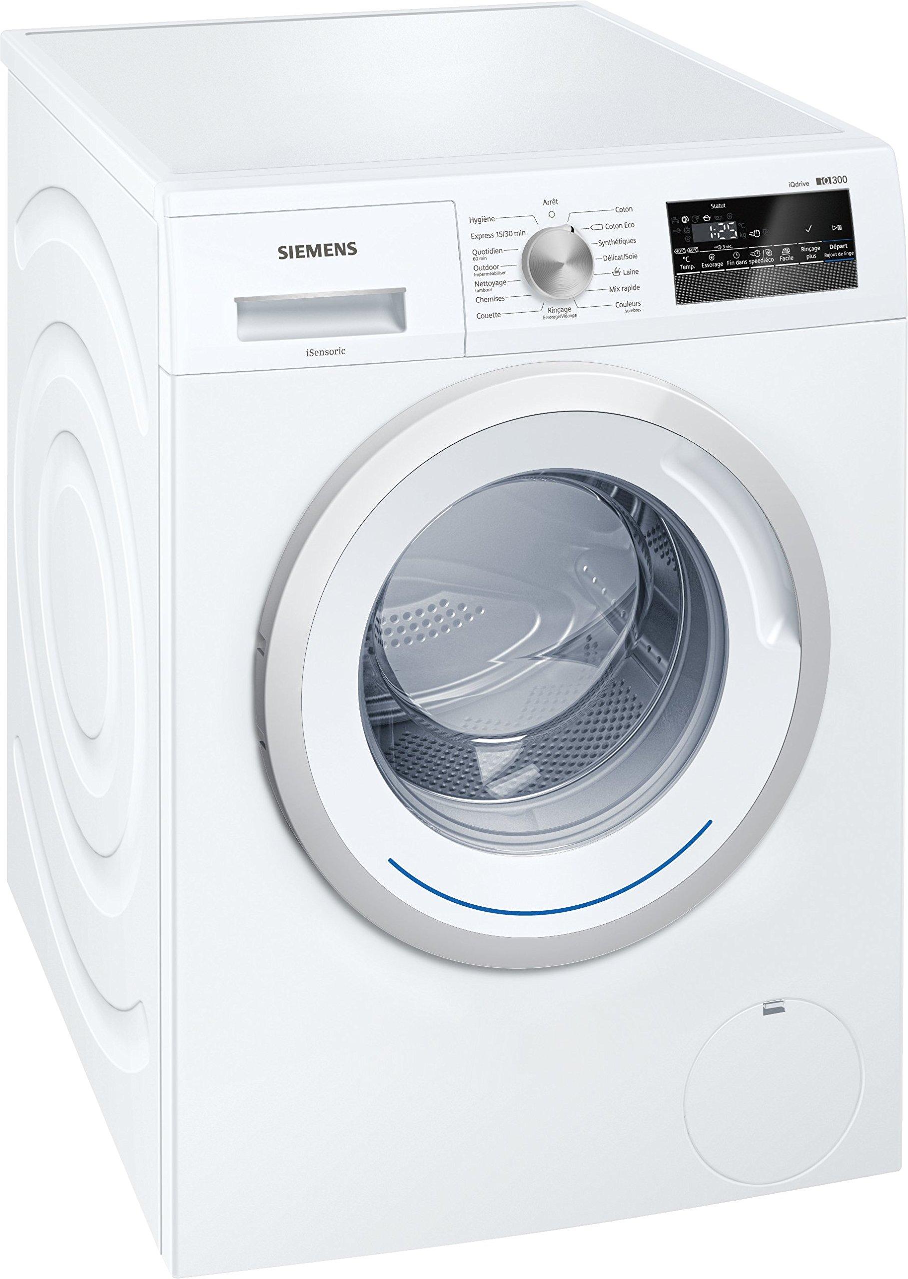 Siemens-wm12-N260ff-autonome-Belastung-Bevor-8-kg-1200trmin-A-10-wei-Waschmaschine–Waschmaschinen-autonome-bevor-Belastung-wei-links-LED-55-l