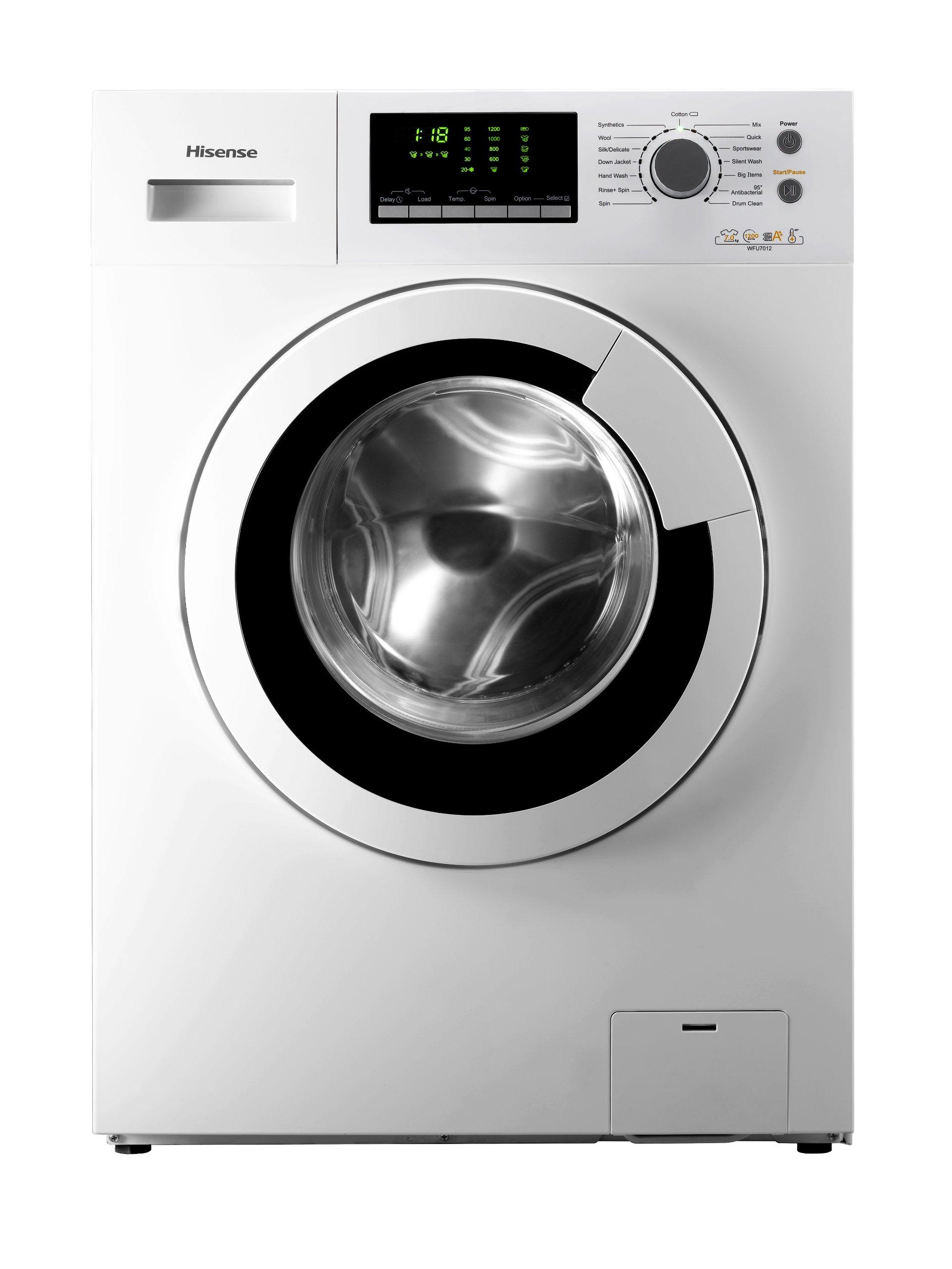 Hisense-WFU6012-Waschmaschine-FL-A-1720-kWhJahr-1200-UpM-6-kg-79900-LJahr-360-Smart-Wash-wei