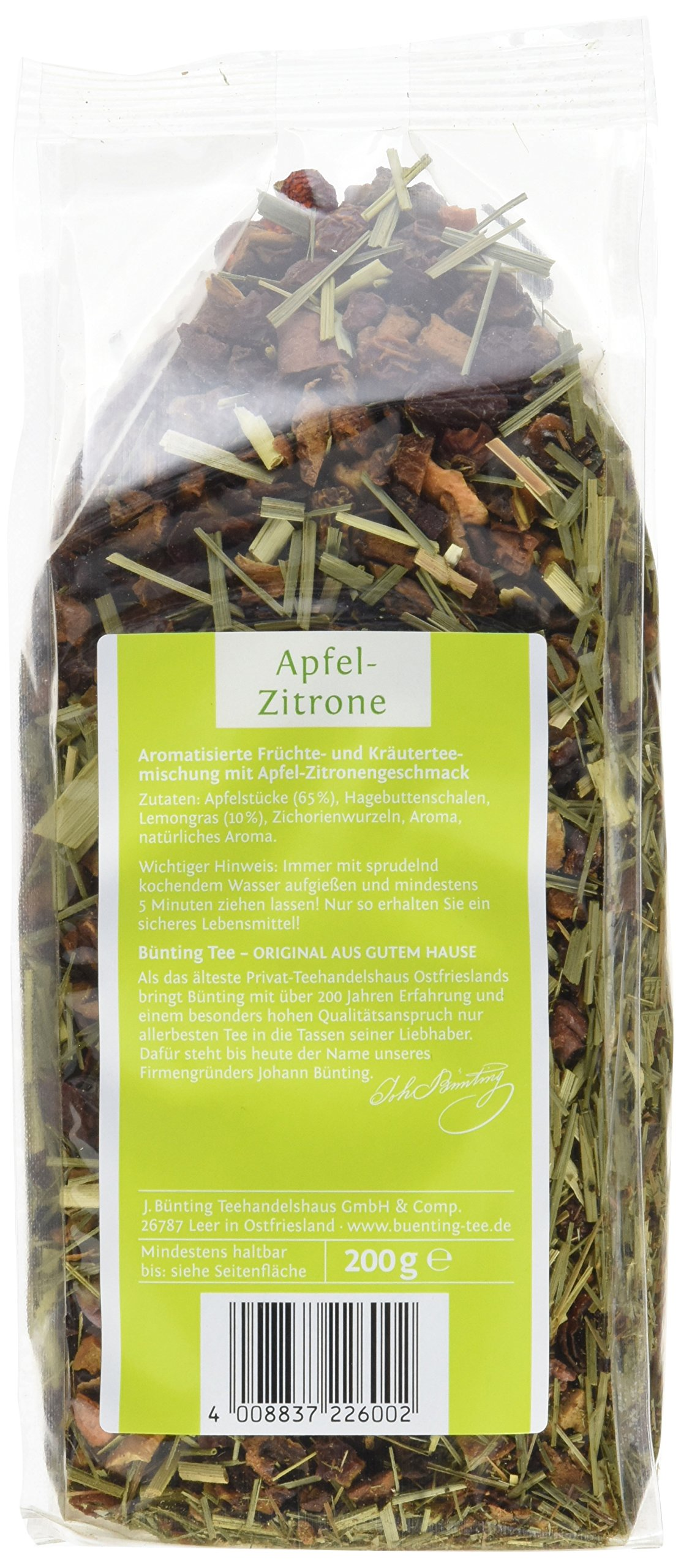 Bnting-Tee-Apfel-Zitrone-200-g-lose-6er-Pack-6-x-200-g