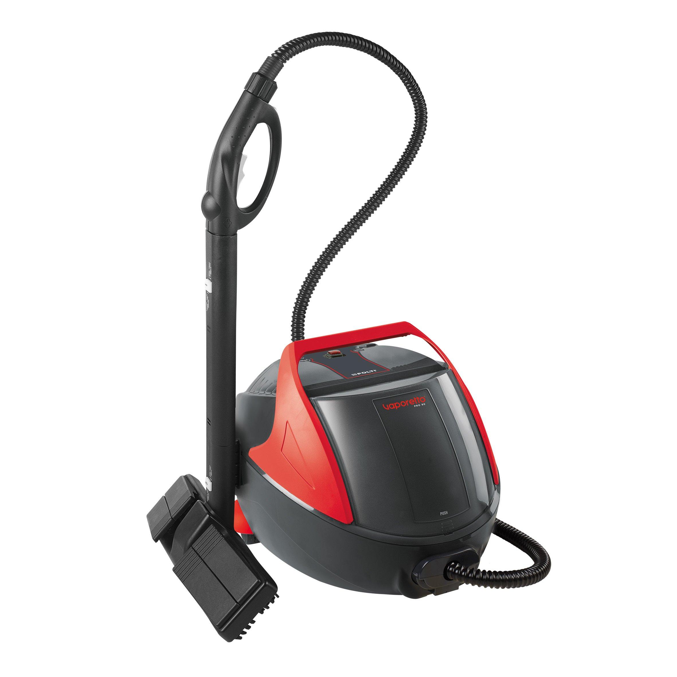 POLTI-PTEU0262-Vaporetto-Pro-80-Dampfreiniger-mit-stndiger-Nachfllbarkeit-1100-Watt-45-Bar-rot