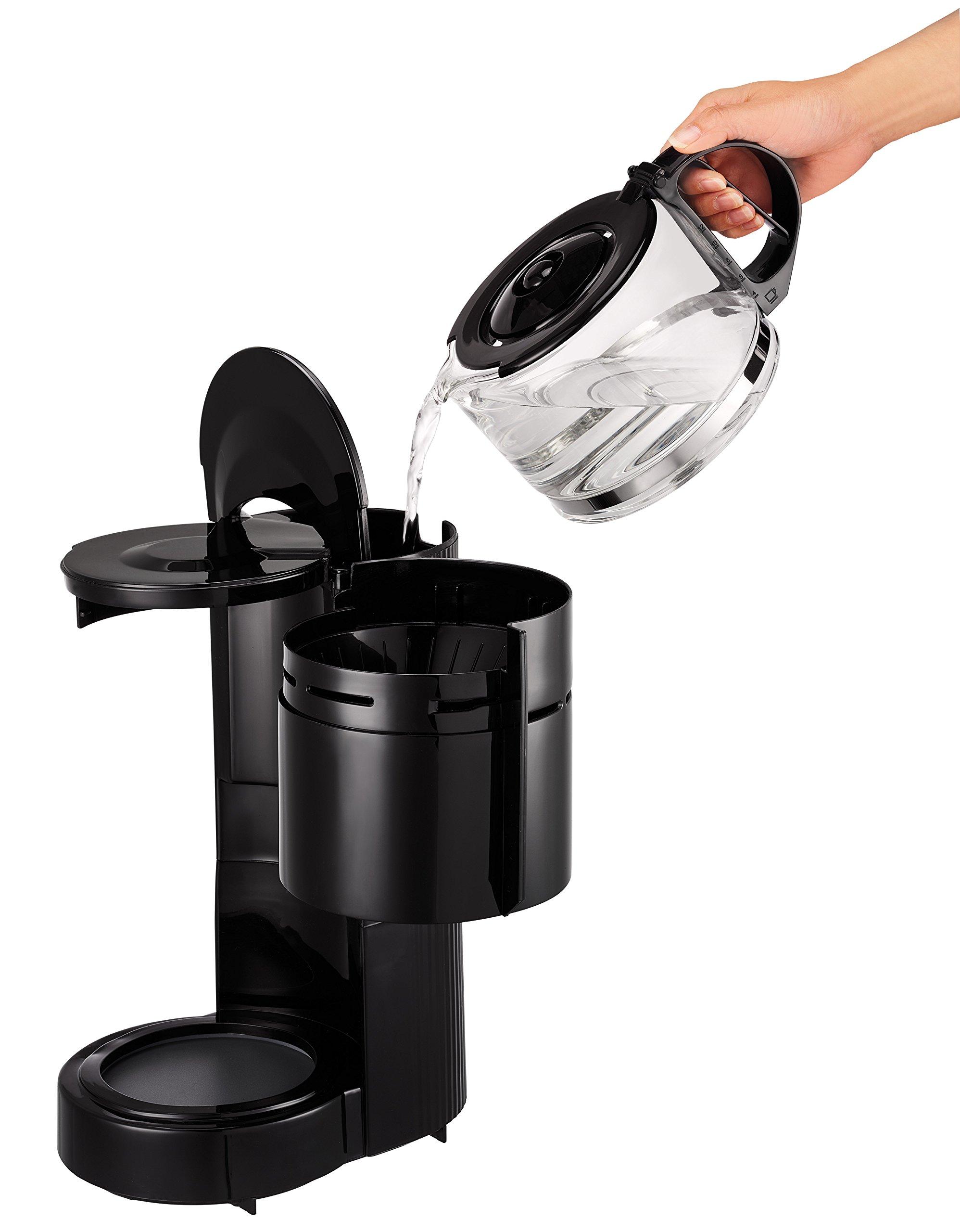 Tefal-Uno-CM1218-Filterkaffeemaschine-11-Liter-schwarz