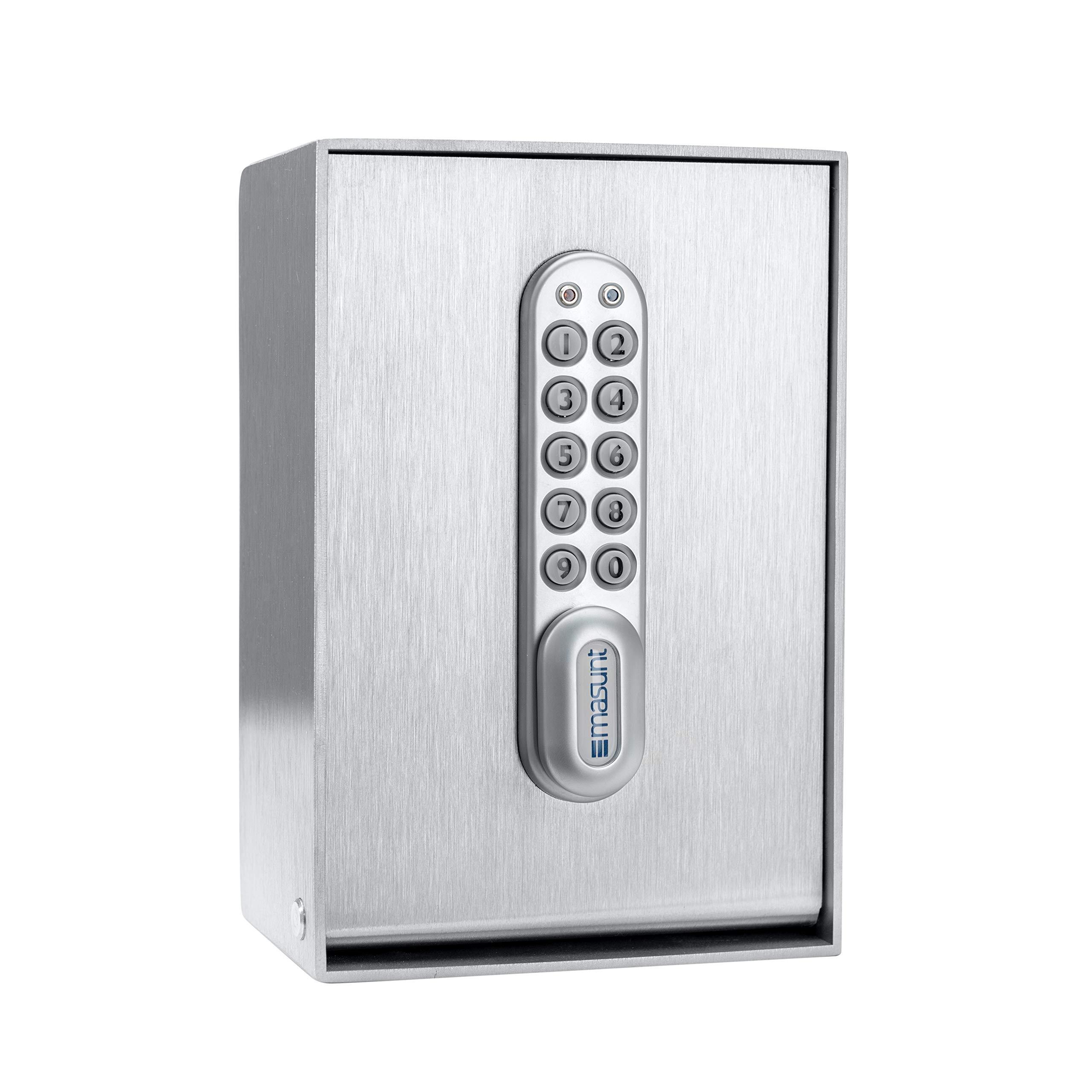masunt-Schlsseltresor-2120-E-Code–Elektronischer-Schlsselsafe-fr-die-komfortable-Schlsselbergabe-Auch-fr-Auen-geeignet