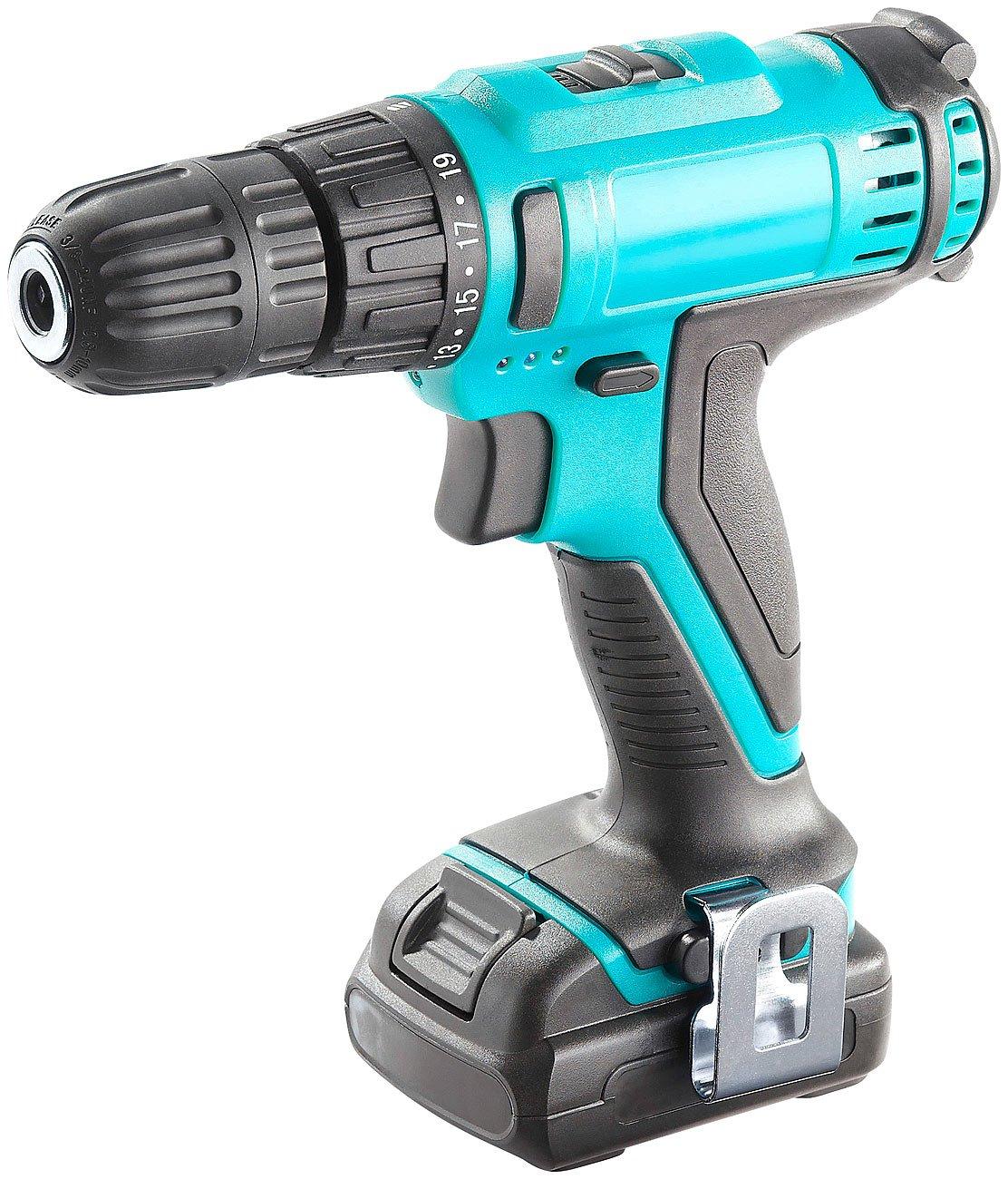 AGT-Schrauber-Akkuschrauber-ohne-108-V-Akku-mit-Drehmoment-Wahl-und-LED-Licht-Akkuwerkzeug-Akku-Schrauber