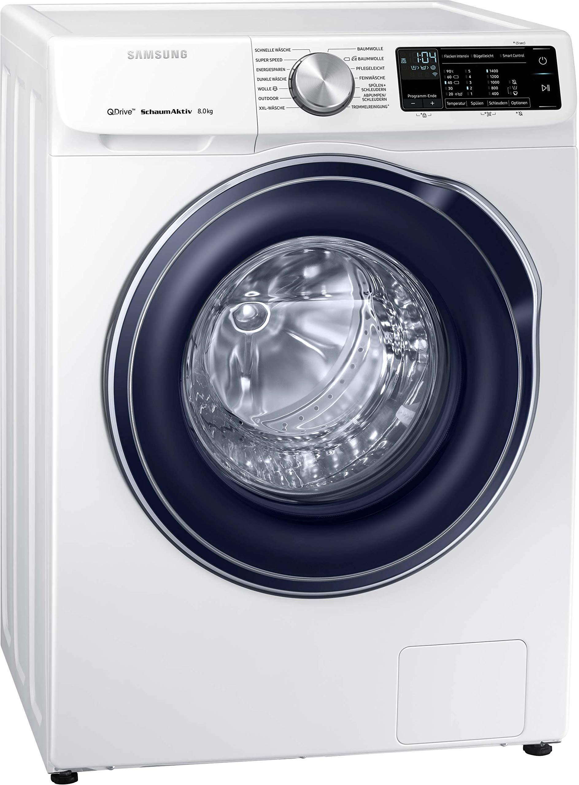 Samsung-WW6600-WW80M642OBWEG-Waschmaschine-8-kg-1400-Umin-A-QuickDrive-Technologie