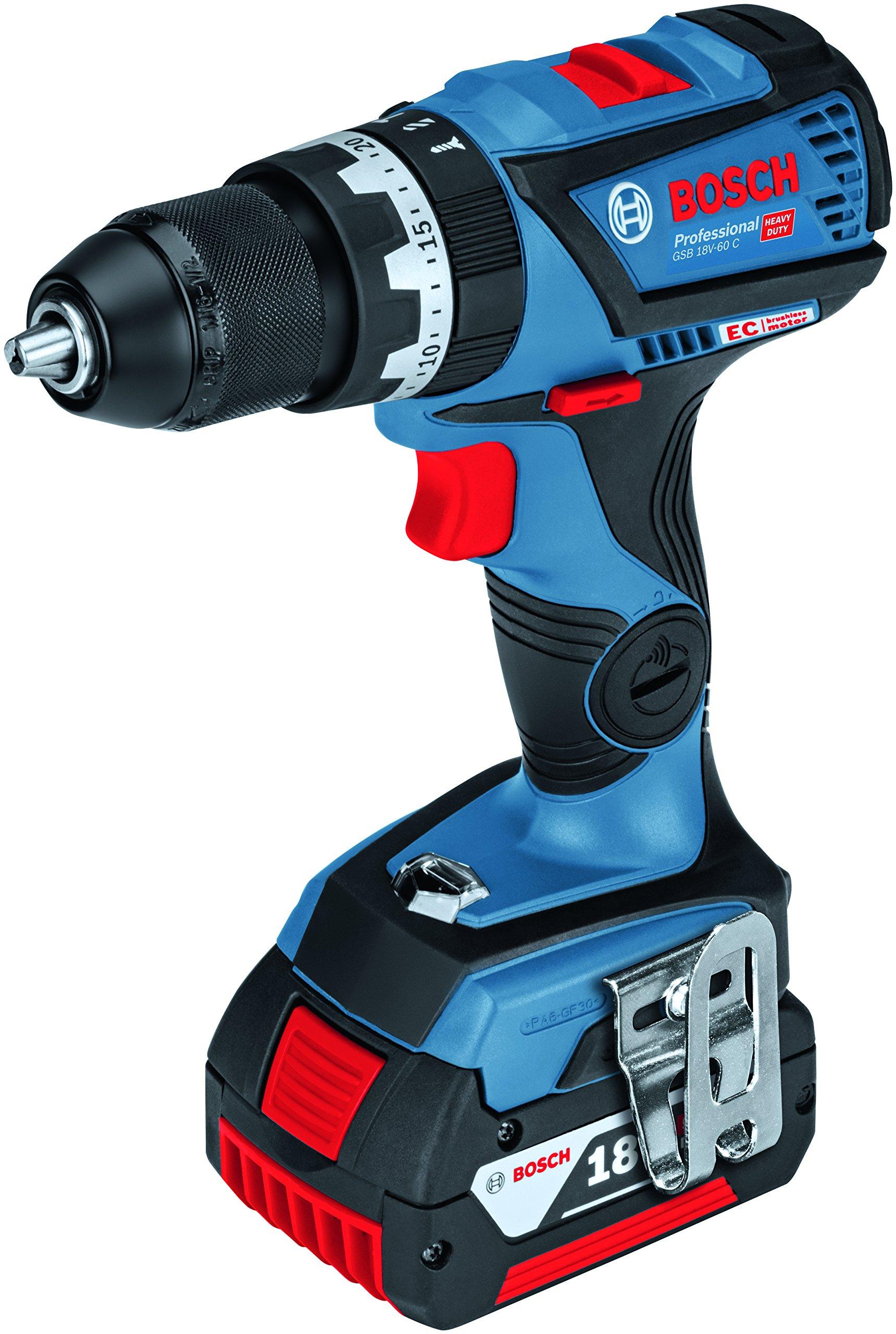 Bosch-Professional-18V-Akku-Schlagbohrschrauber-GSB-18V-60-C-2x-50-Ah-Akku-Schnellladegert-Bluetooth-Modul-L-BOXX-18-Volt-Max-Drehmoment-max-Bohrfutter-13-mm-max-Schrauben–10-mm