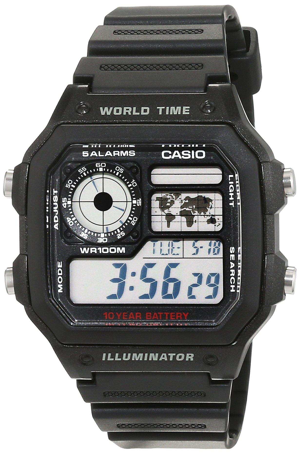 Casio-Collection-Herren-Digitale-Armbanduhr-mit-Armband-aus-Kunstharz–ae-1200wh