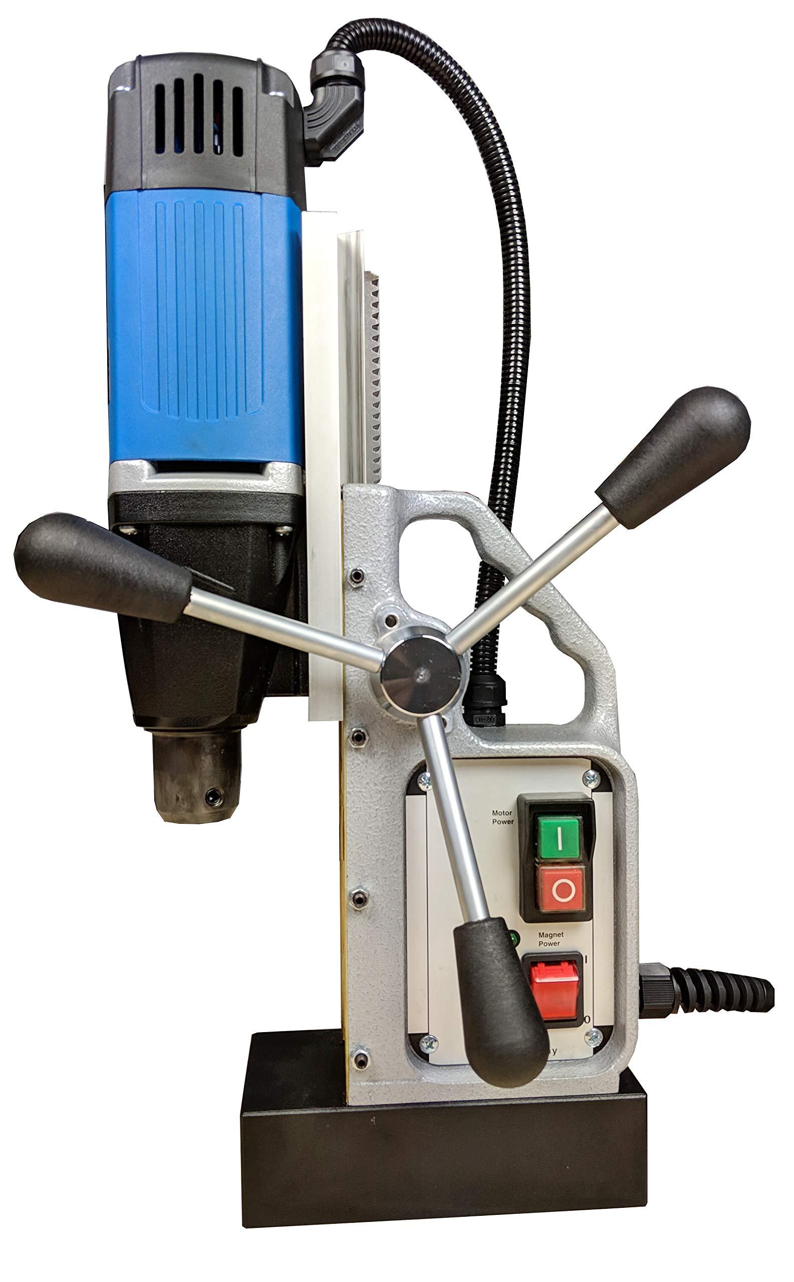 Magnetbohrmaschine-MB30-Kernbohrmaschine-900W-Made-in-Germany-fr-kurze-und-lange-Kernbohrer-bis-30mm-inkl-Direktaufnahme-19mm-Weldon