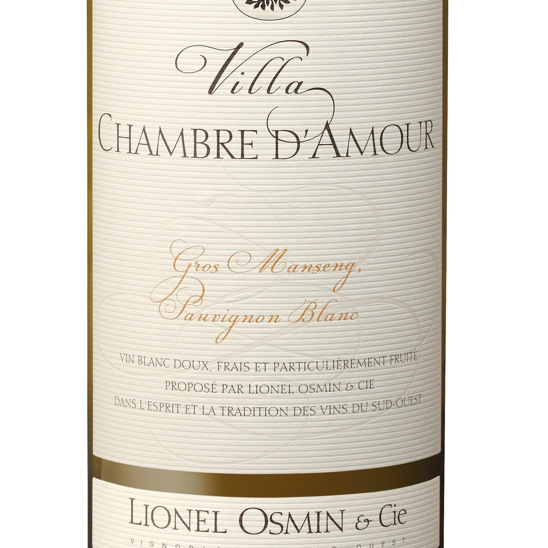 OSMIN VILLA CHAMBRE D\'AMOUR 2015 75 cl   Alles über Wein ...