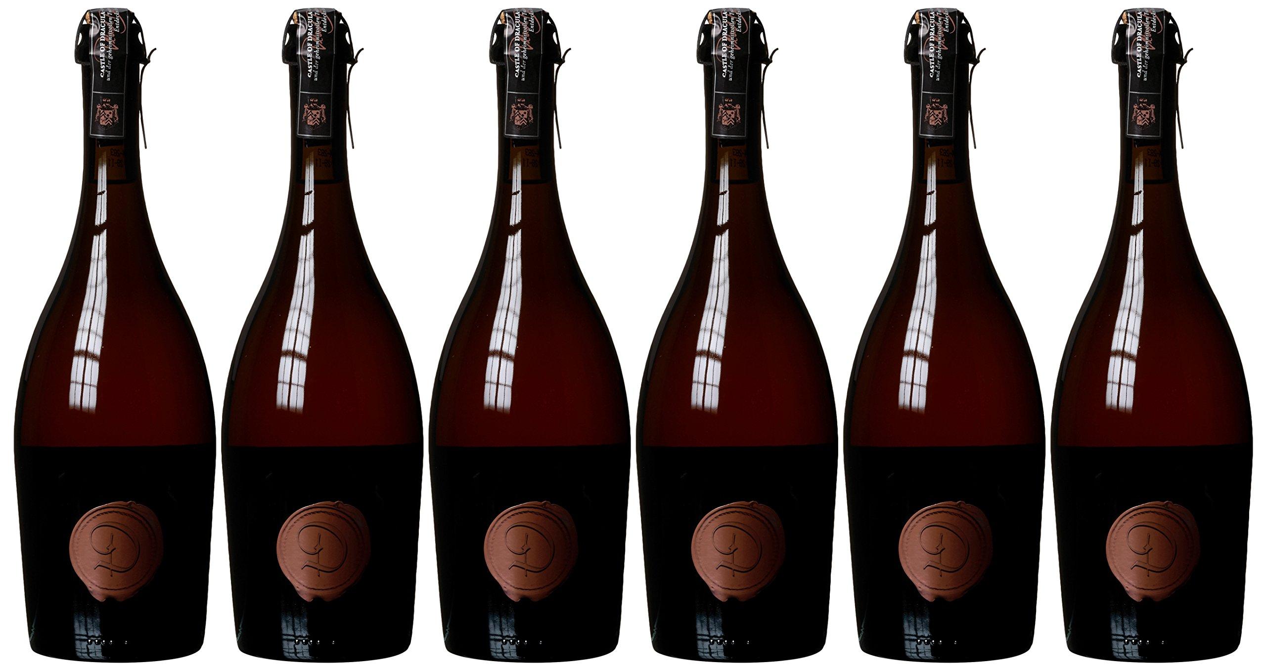 Castle-of-Dracula-Marsecco-Ros-Rosato-Vino-Frizzante-6er-Pack-6-x-750-ml
