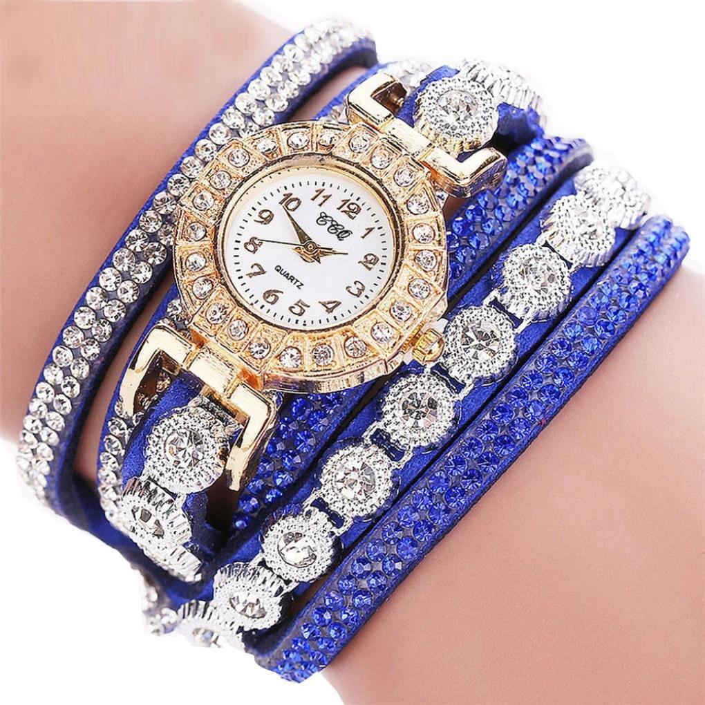 Armbanduhr-erthome-Frauen-Mode-Lssig-Analog-Quarz-Damen-Strass-Uhr-Armbanduhr-Muttertag-Geschenk