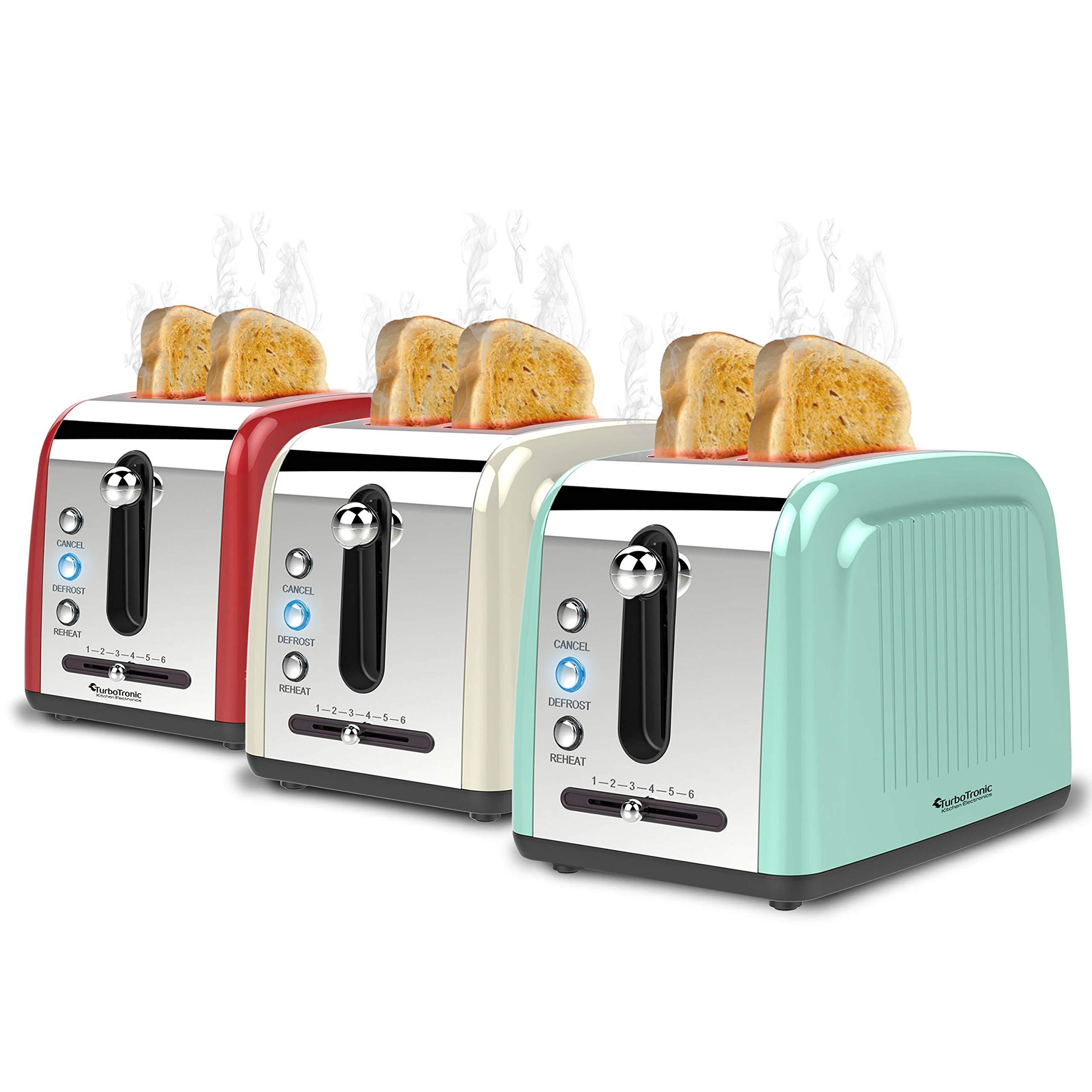 2-Scheiben-Langschlitz-Toaster-mit-850W-Aufwrm-Auftaufunktion-inkl-Brtchenaufsatz-Krmelschublade-Retro-Design