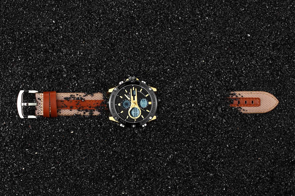 Herrenuhr-Klassisch-Multifunktion-Analog-Sport-Wasserdicht-Quarz-Uhren-fr-Mnner-Fashion-Militr-Casual-Armbanduhr