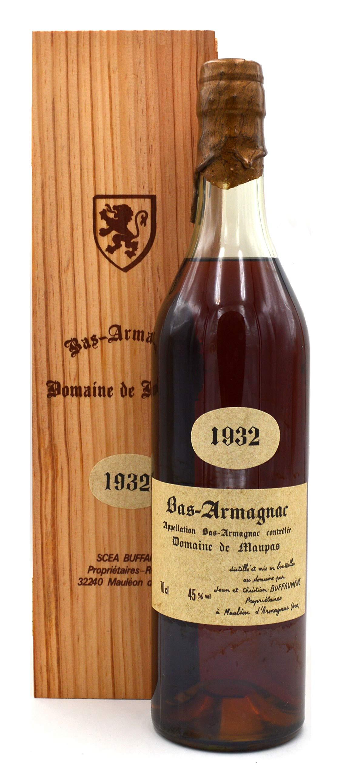 Raritt-Bas-Armagnac-Domaine-de-Maupas-1932-07l-inkl-Holzkiste