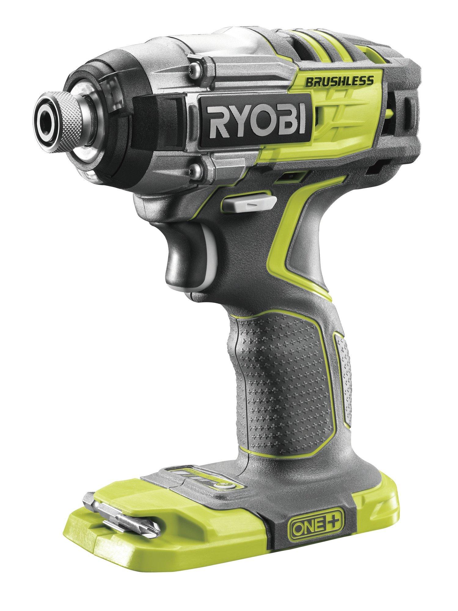Ryobi-Akku-Schlagschrauber-R18IDBL-DeckDrive-18Volt-grnschwarz-ohne-Akku