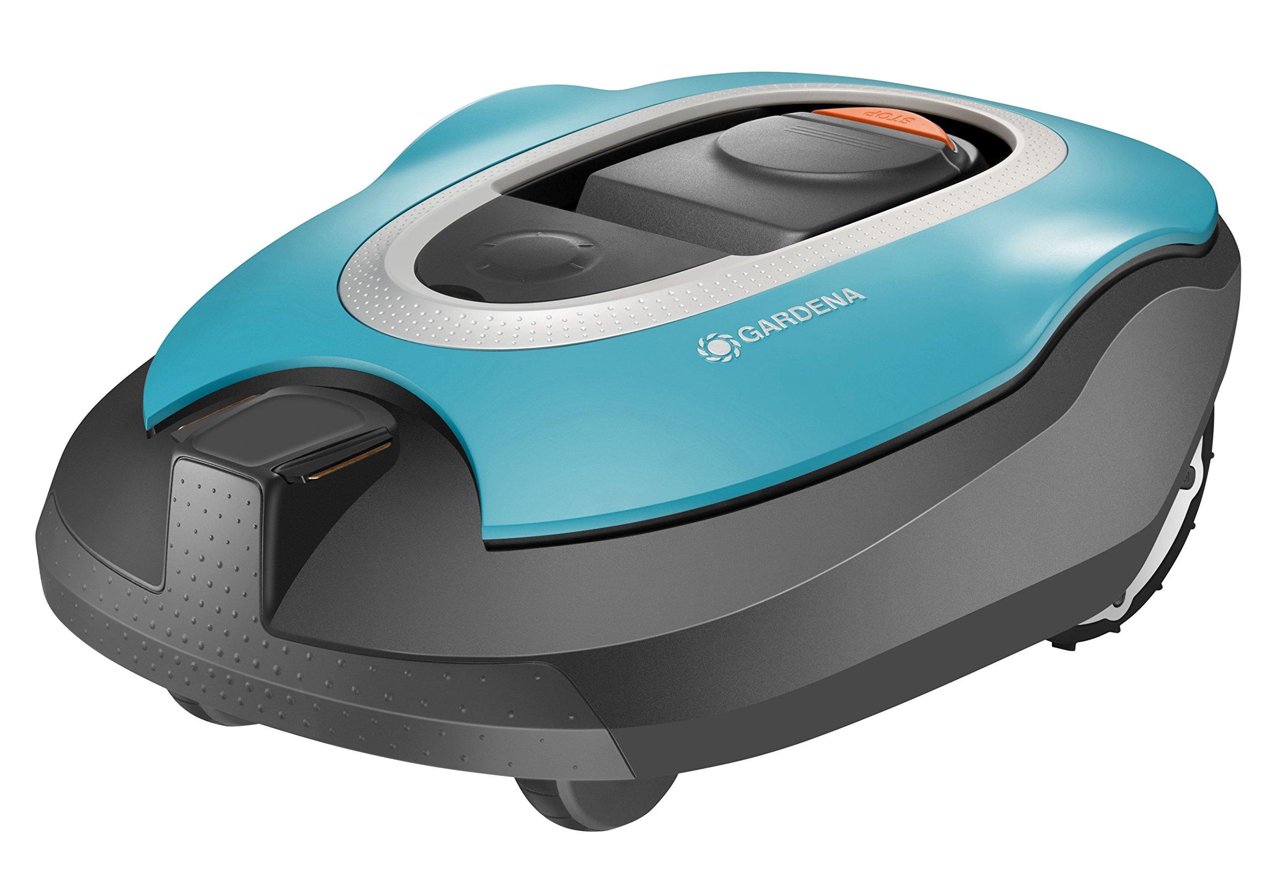 GARDENA-SILENO-Mhroboter-Rasenmher-Roboter-fr-1000-m-Rasenflche-Steigungen-bis-35-Silent-Drive-Motor-bei-Regen-einsetzbar-automatisches-Ladesystem-SensorCut-System-LCD-Display-4052-60
